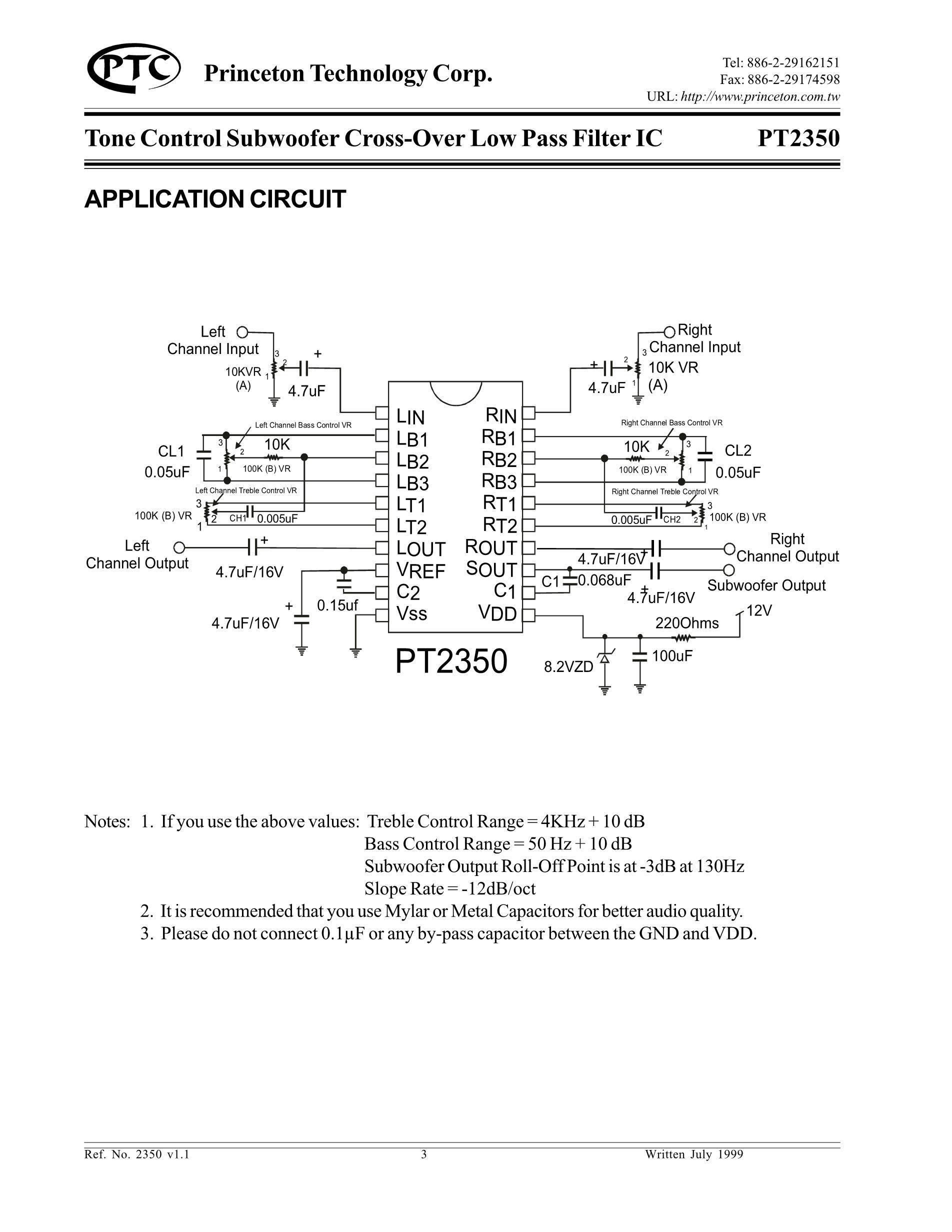 PT2313L's pdf picture 3