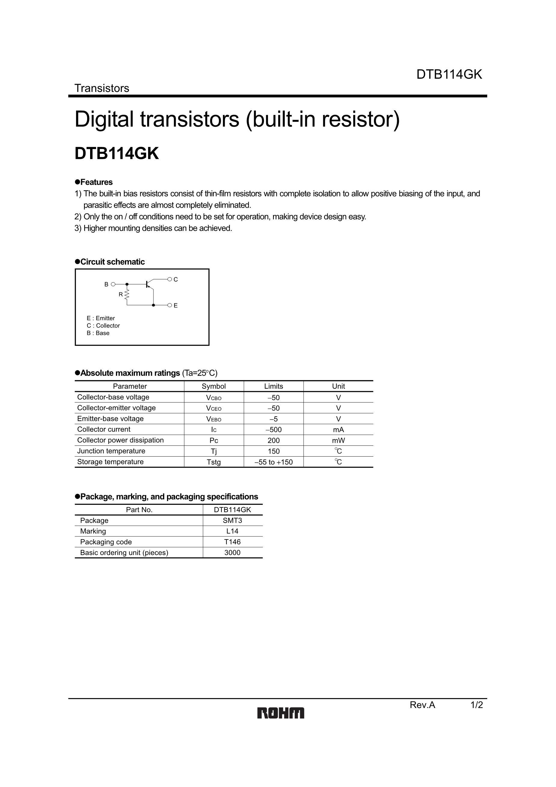 DTB114EKT146's pdf picture 1