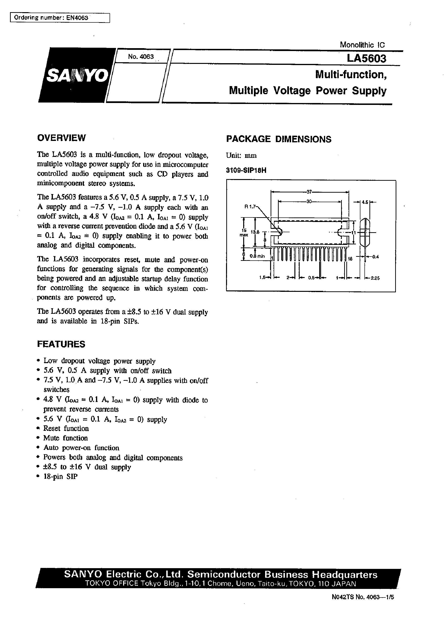 LA5608M-TP-T1's pdf picture 1