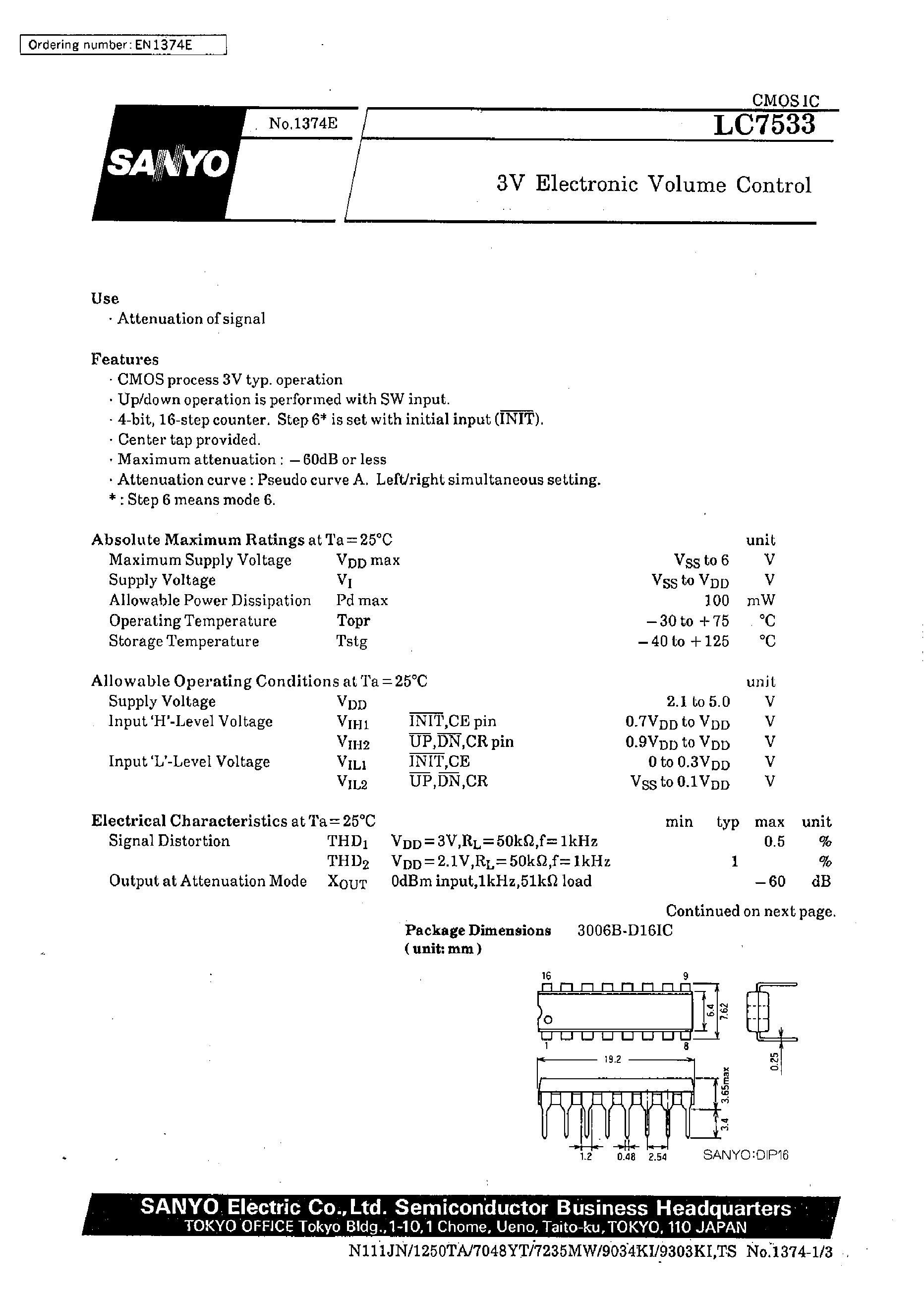 LC750241E-E's pdf picture 1