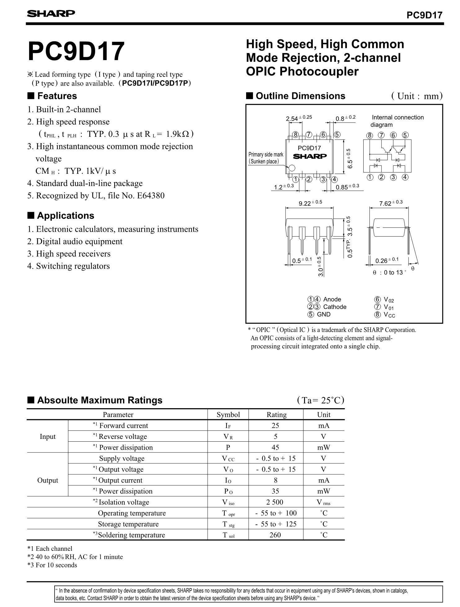 PC9D17P-ROHS's pdf picture 1