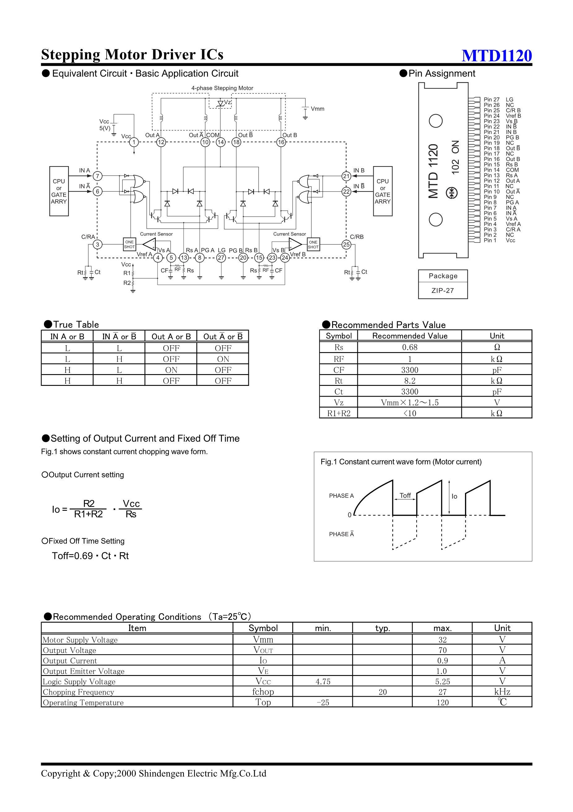 MTD12N06EZL's pdf picture 2