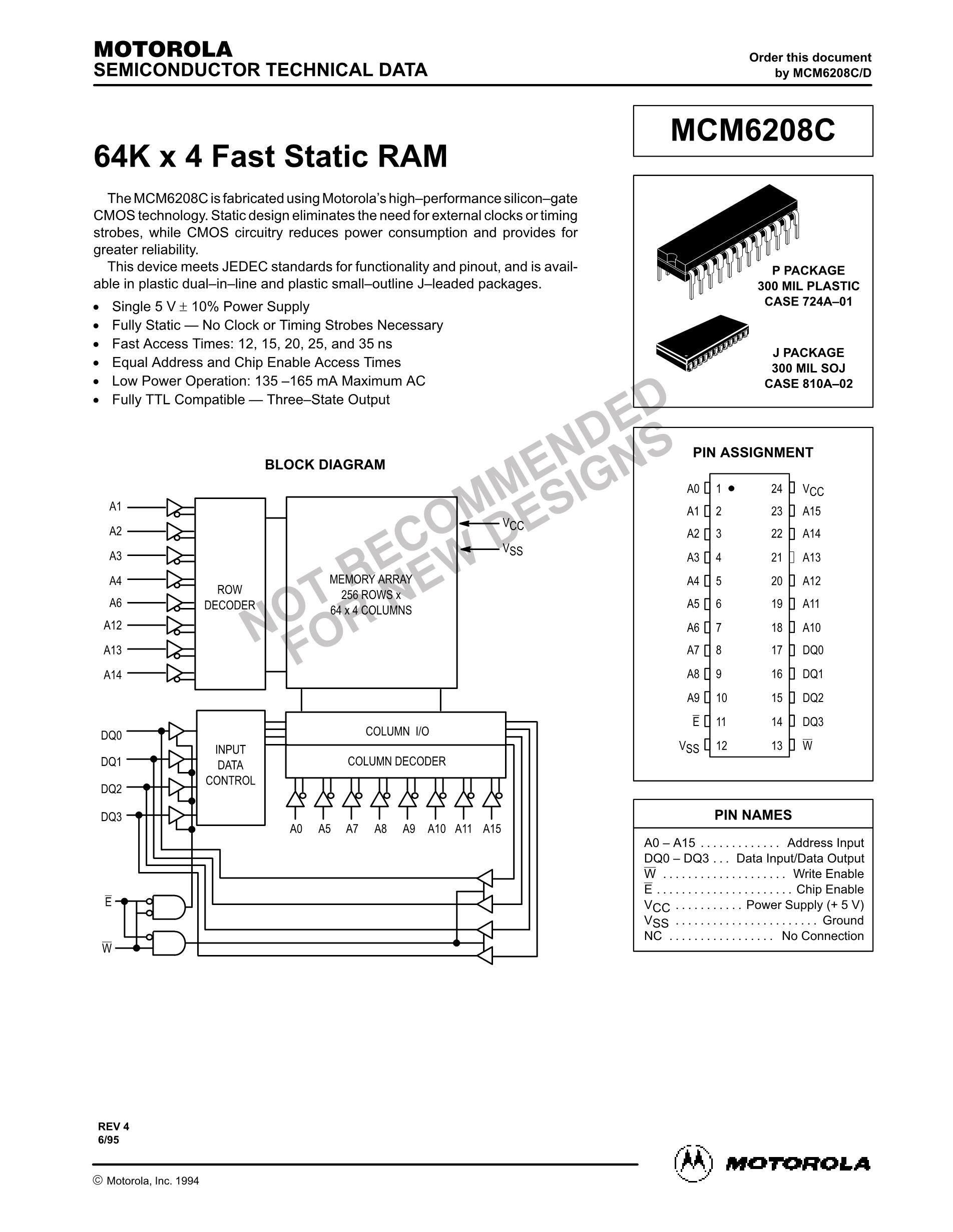 MCM67H518FN10's pdf picture 1