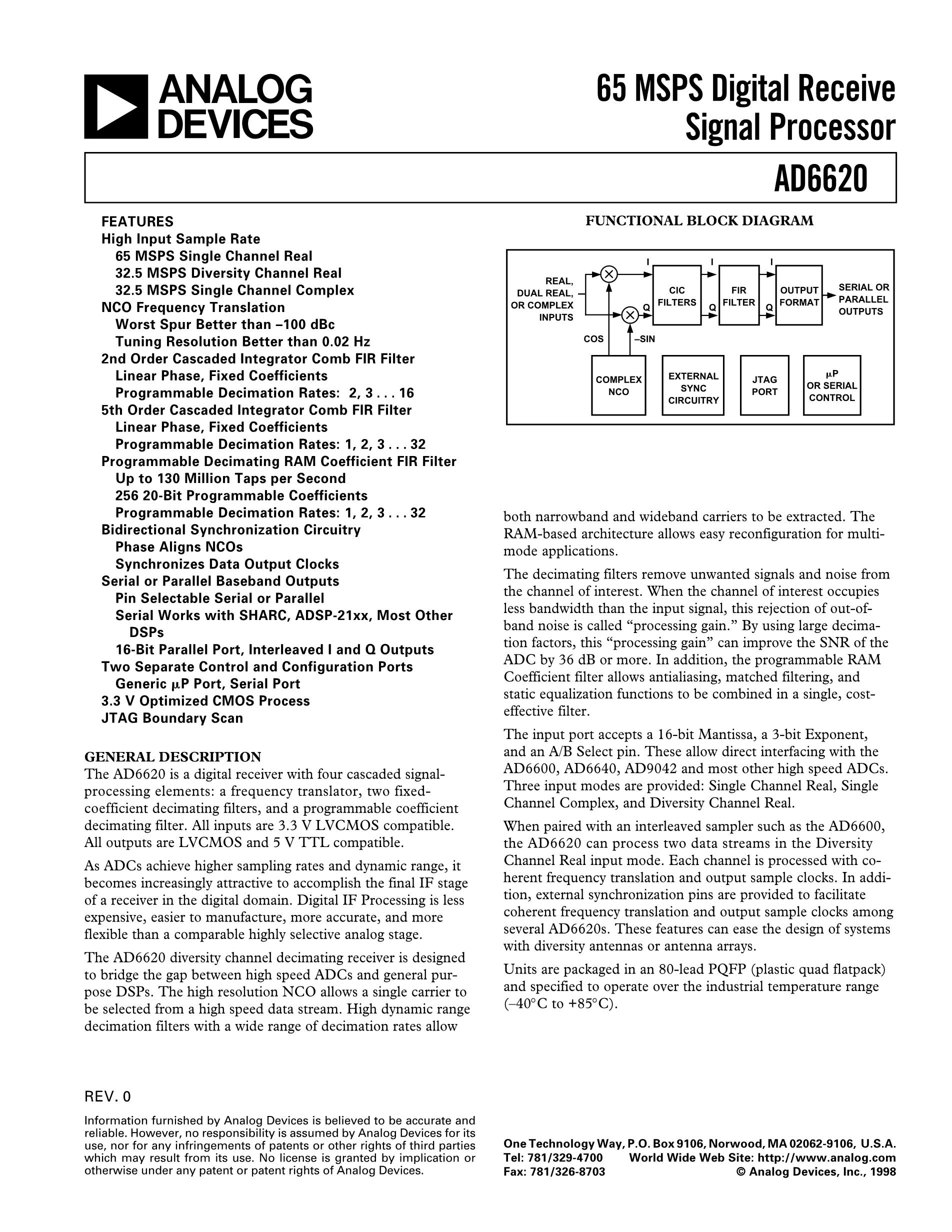 AD667KP-REEL's pdf picture 1