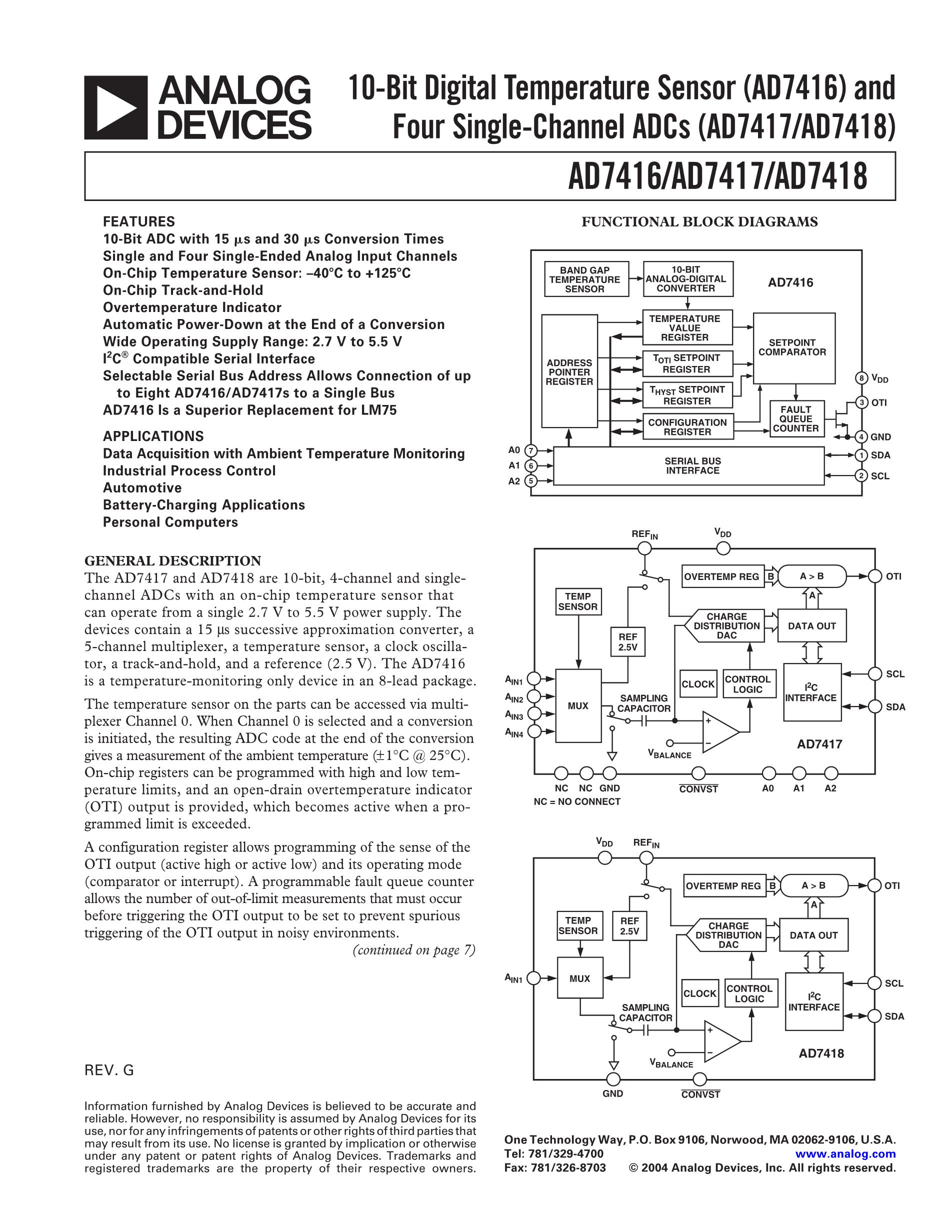 AD7478ART-REEL7's pdf picture 1