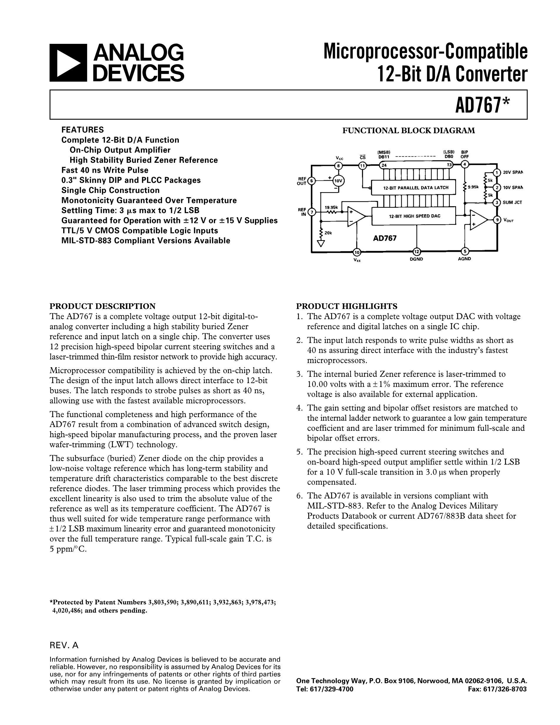 AD767JR's pdf picture 1