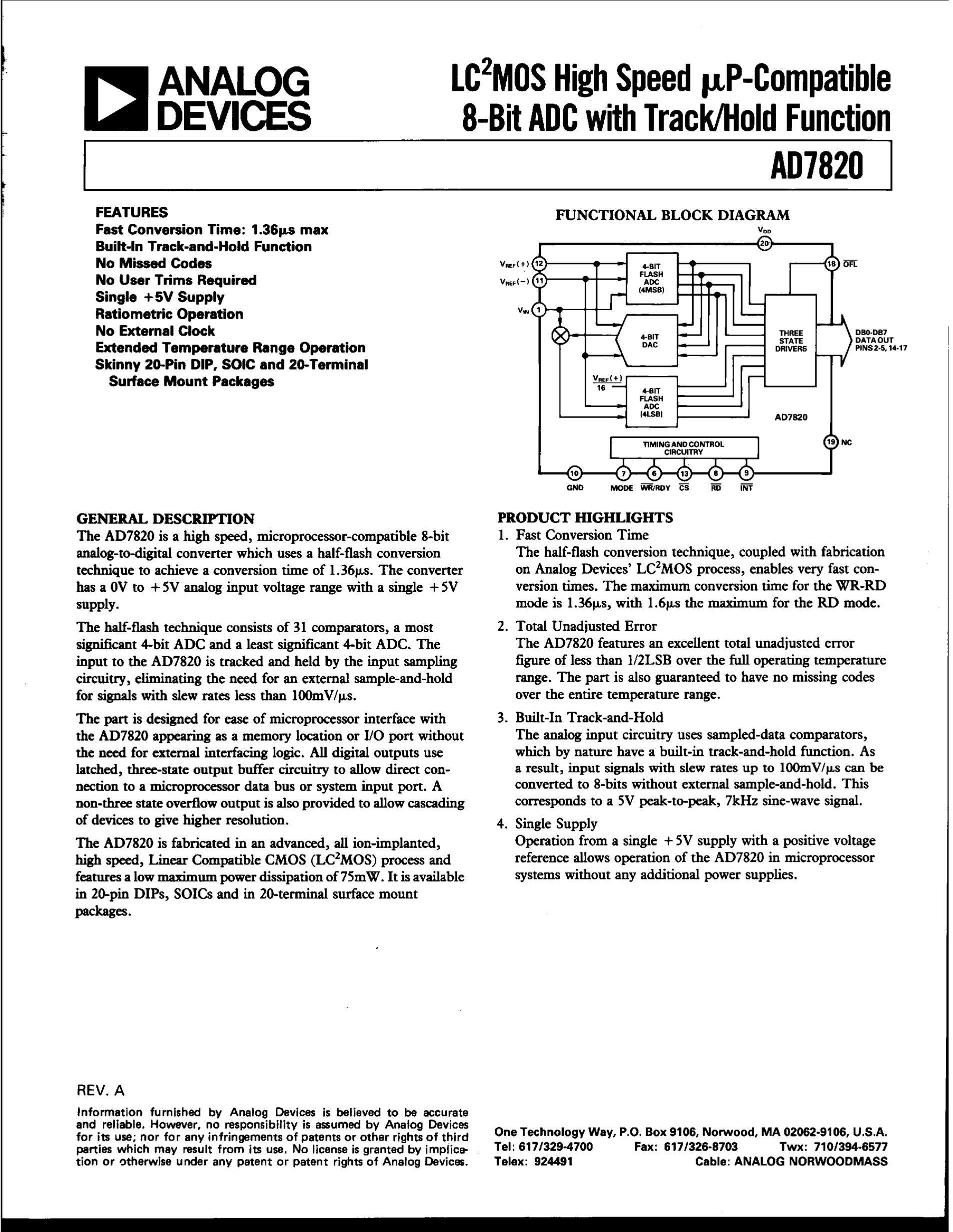AD7820's pdf picture 1