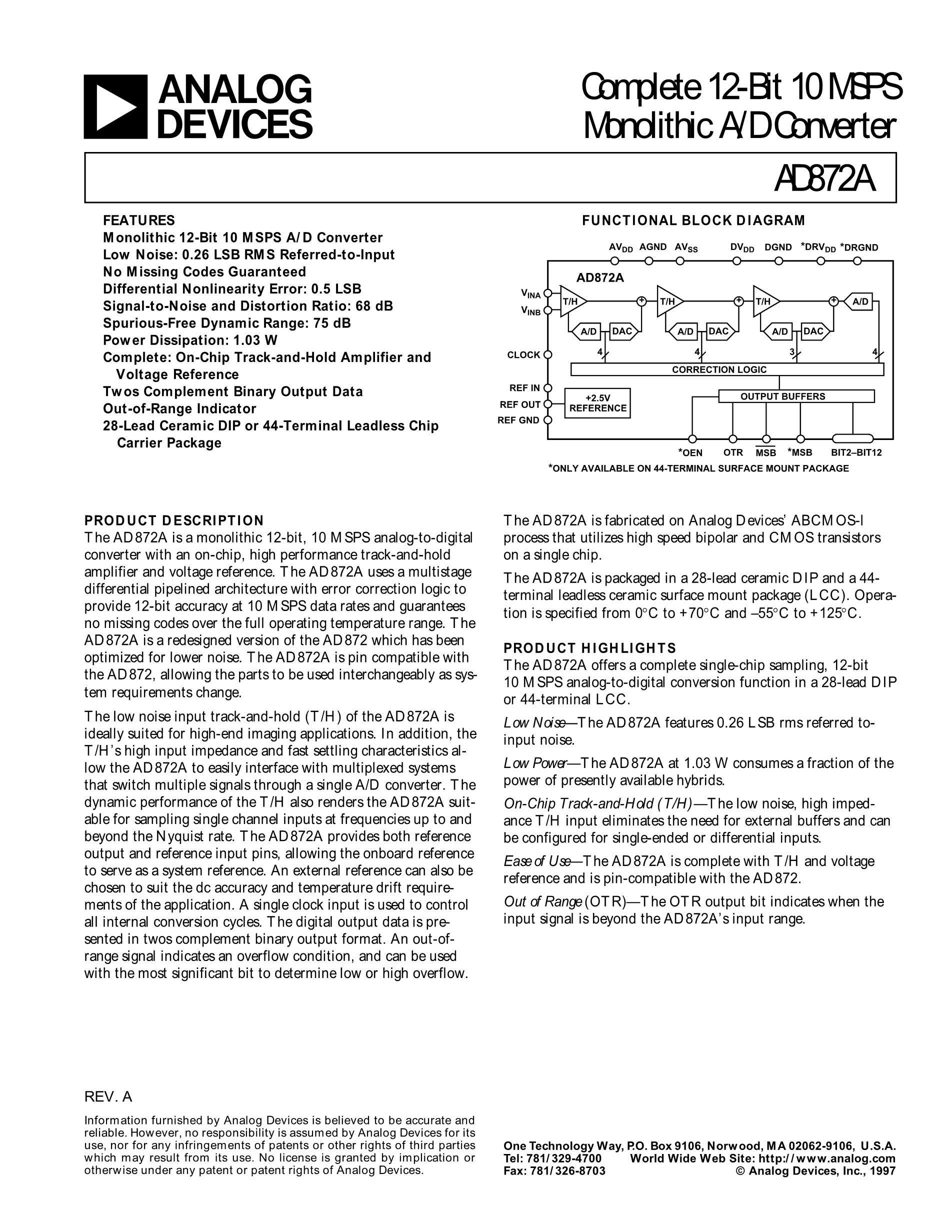 AD872AJD's pdf picture 1