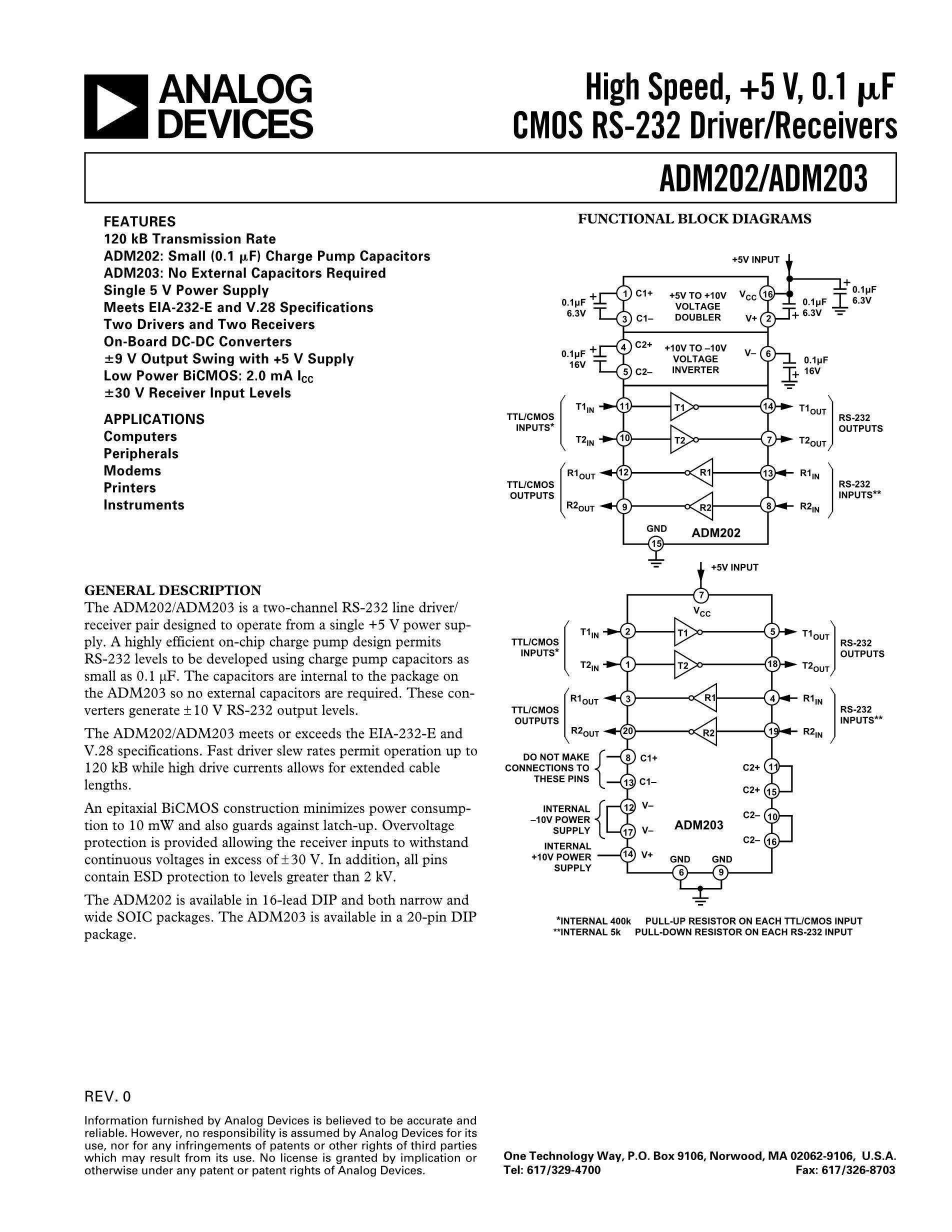 ADM232ACT's pdf picture 1