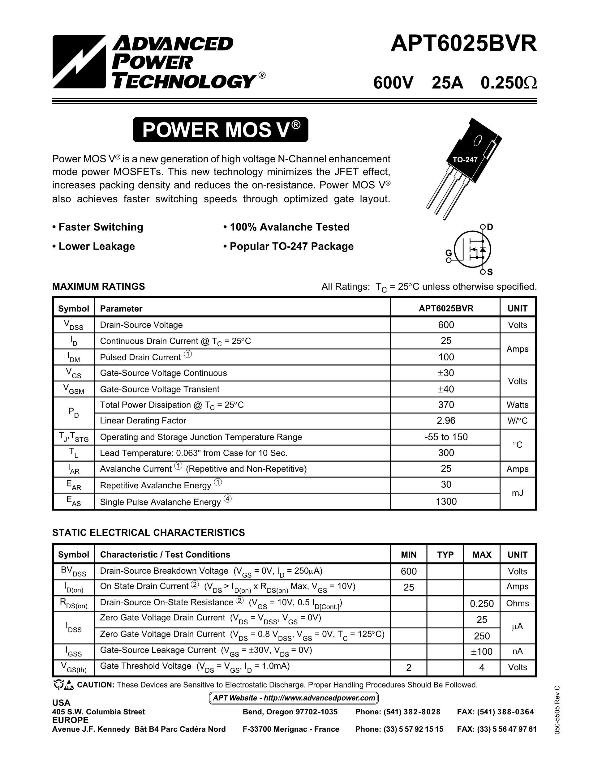 APT60M90JN's pdf picture 1