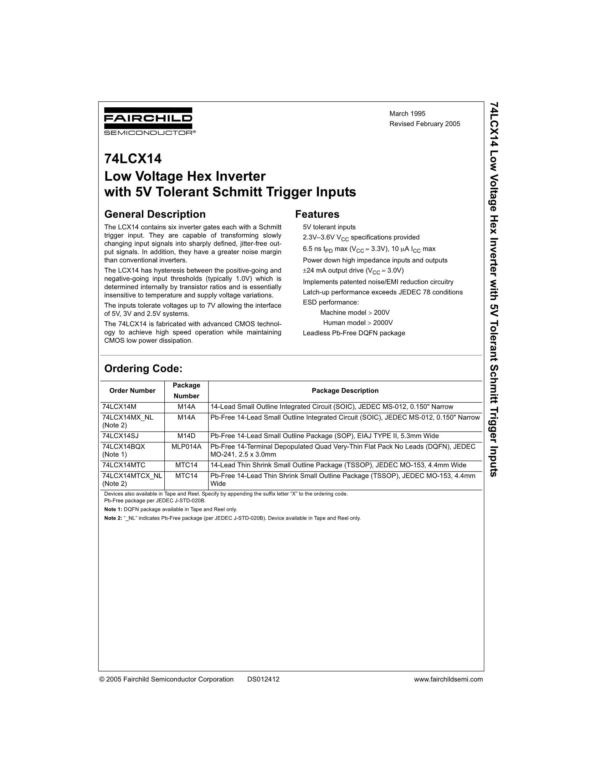 LCX16374's pdf picture 1