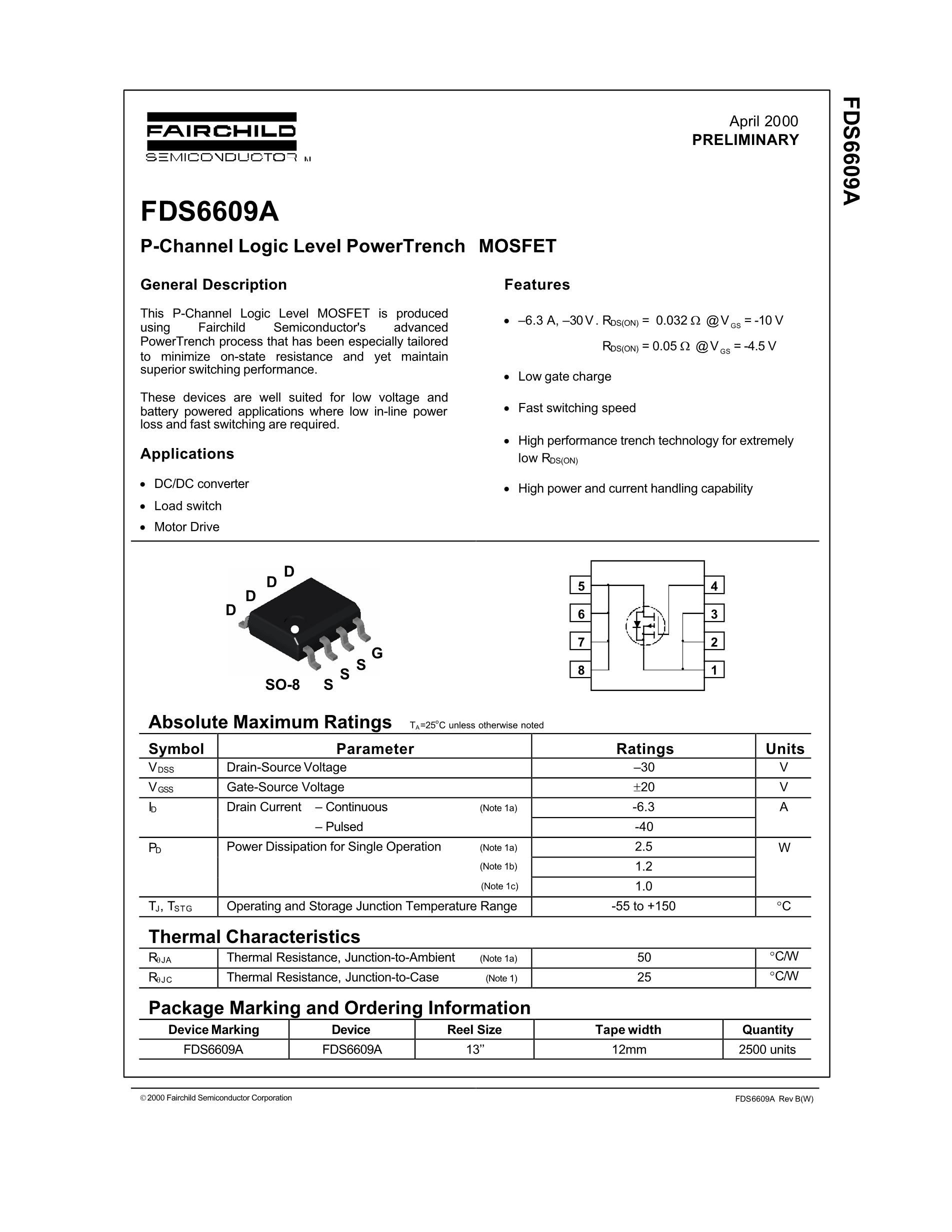 FDS6570A's pdf picture 1