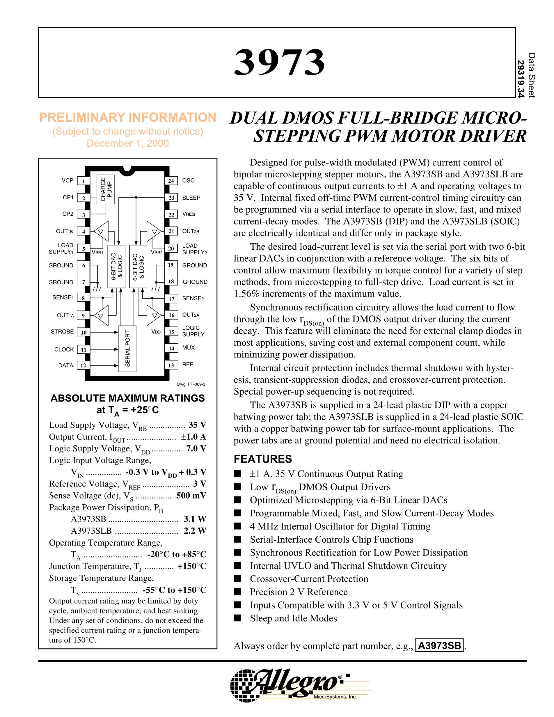 A3977SEDTR-T's pdf picture 1