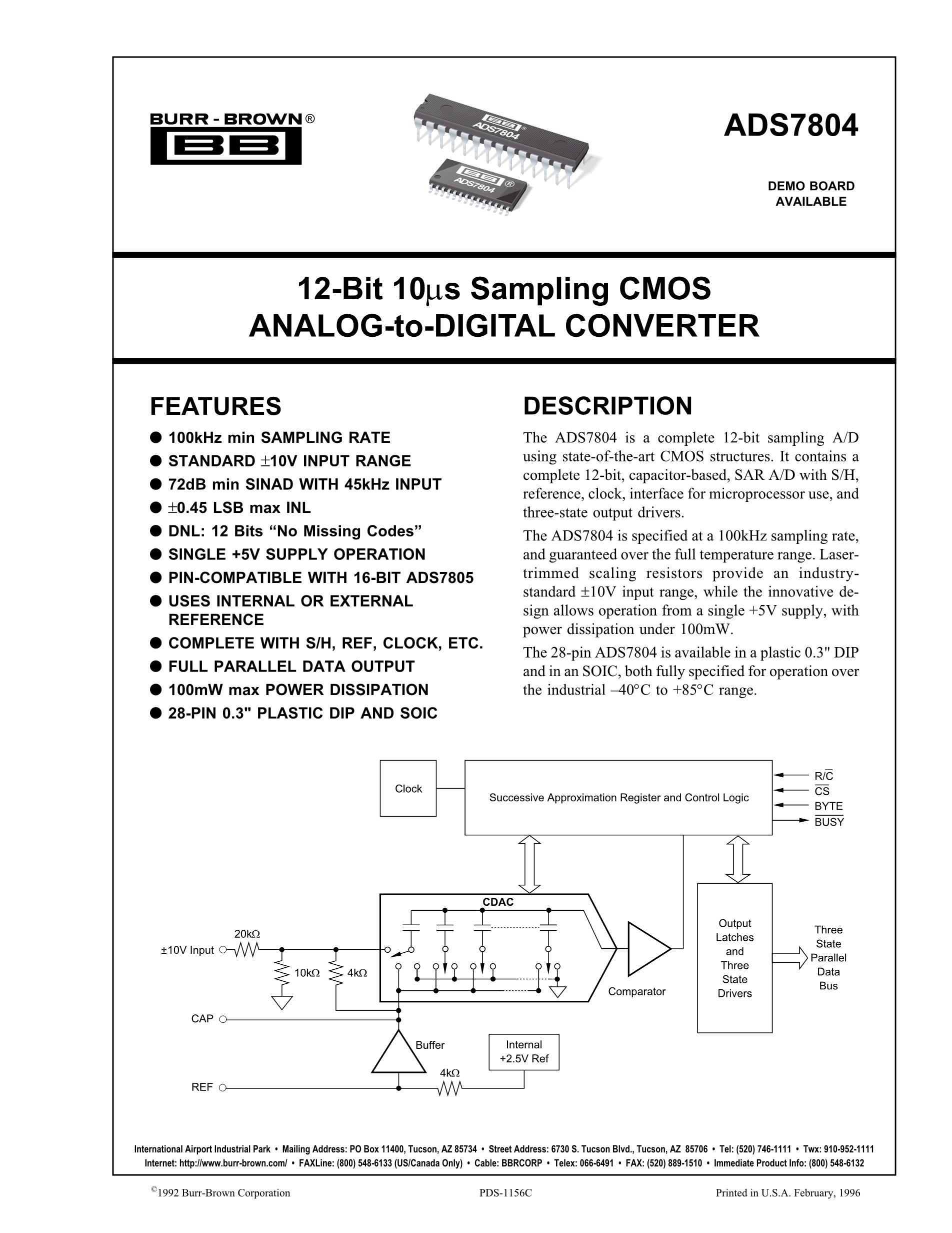ADS7832BD's pdf picture 1