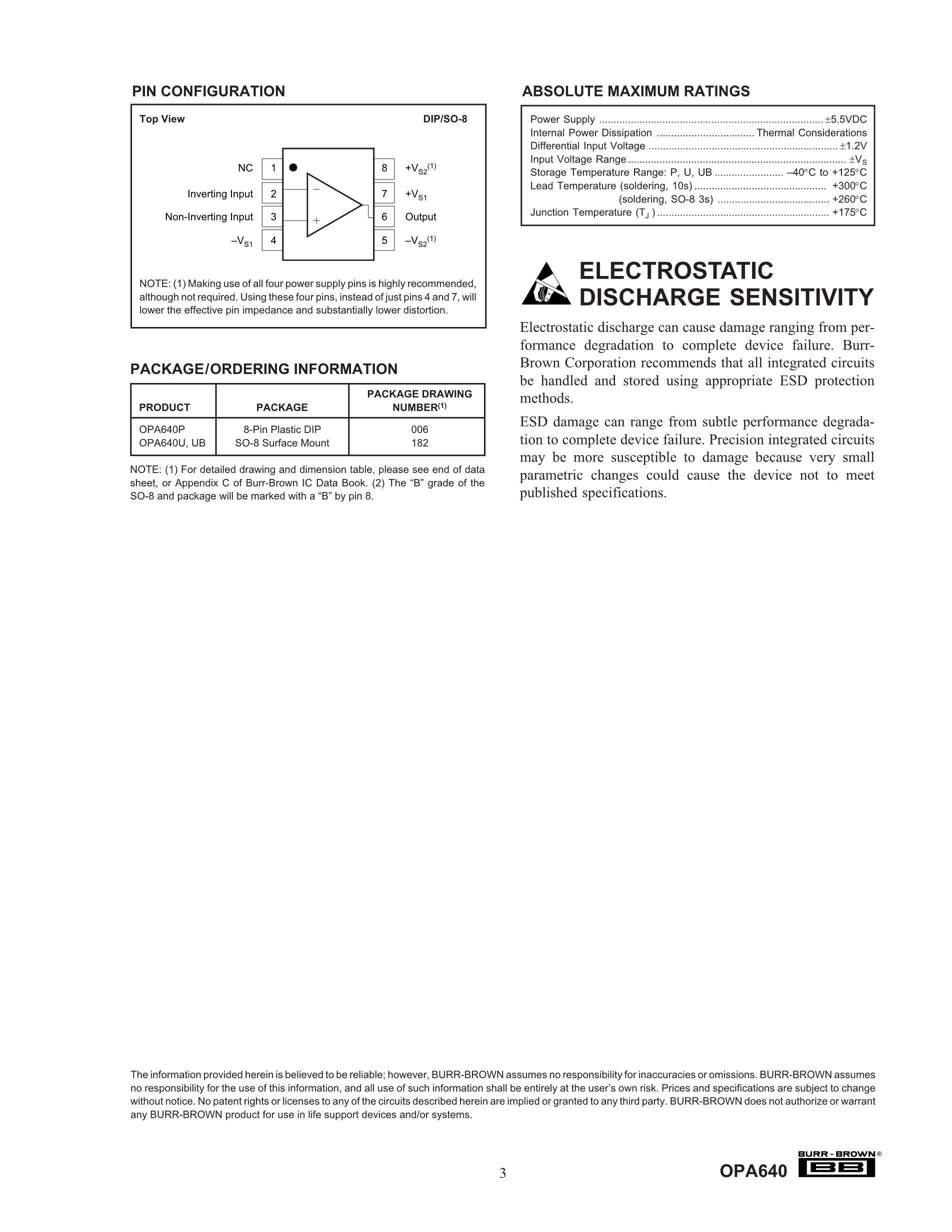 OPA651U's pdf picture 3