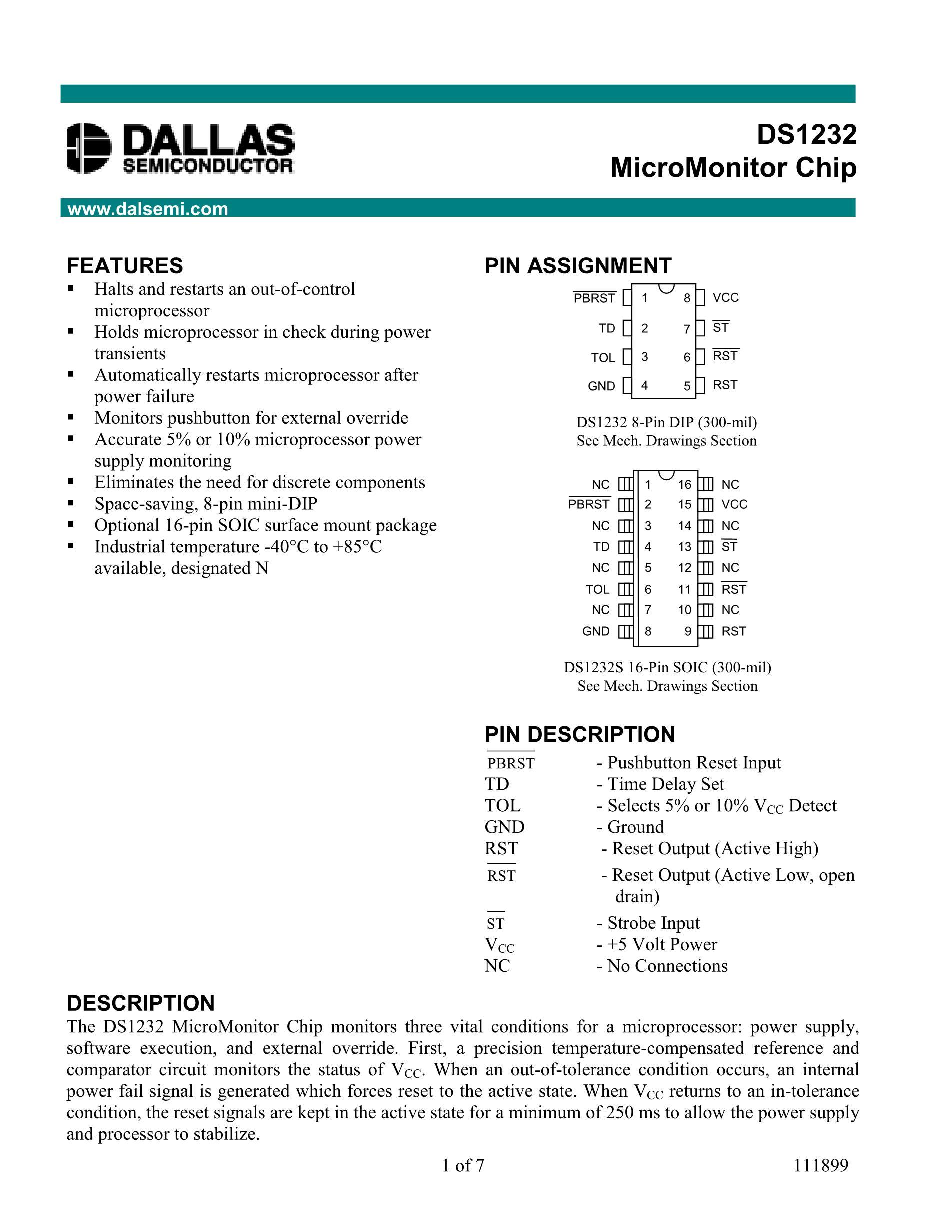 DS1232S's pdf picture 1