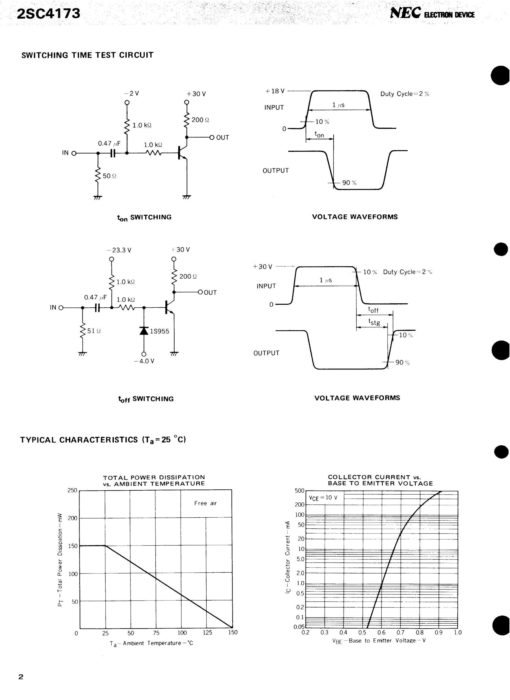 2SC4173's pdf picture 2