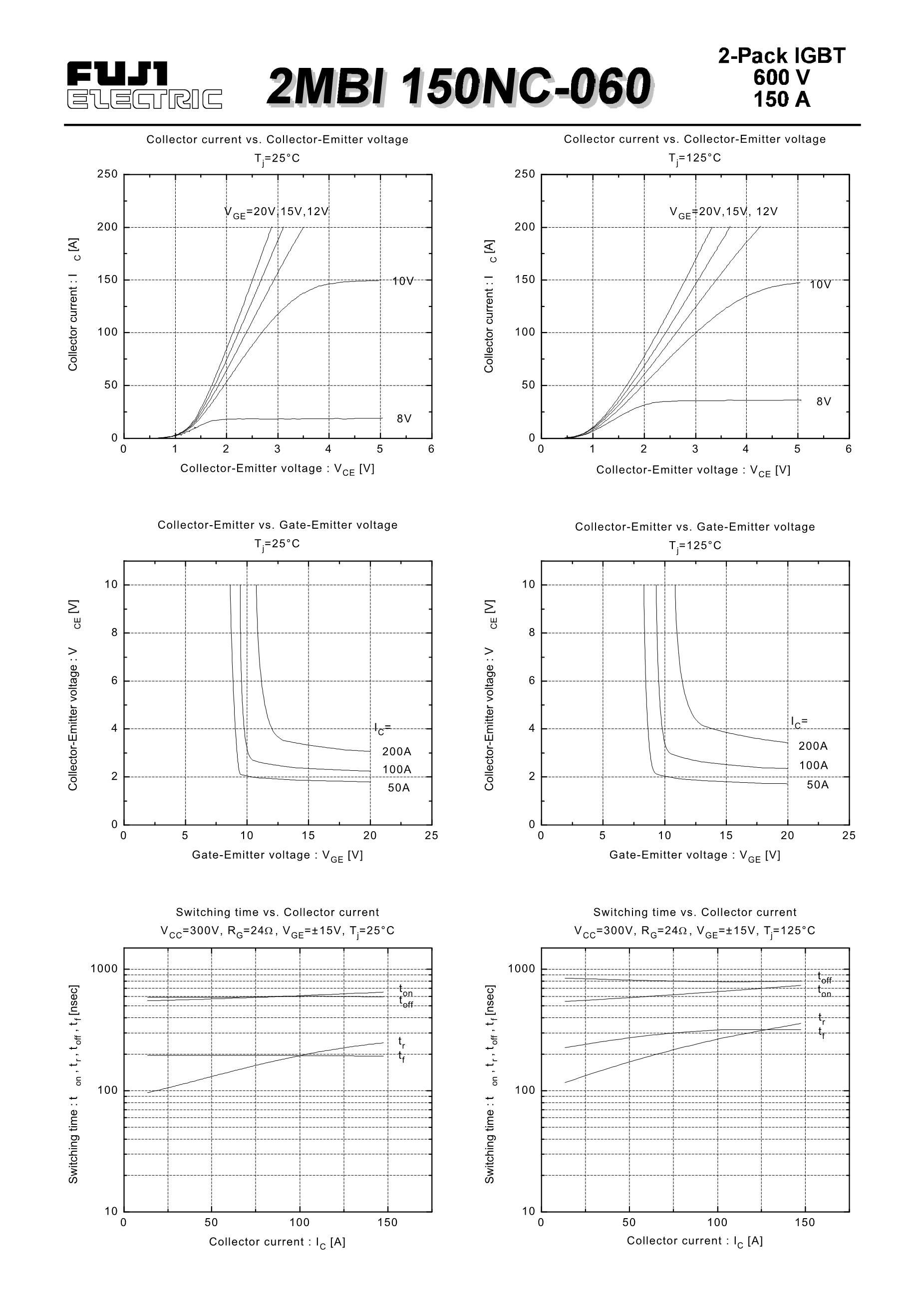 2MBI50J-140's pdf picture 2