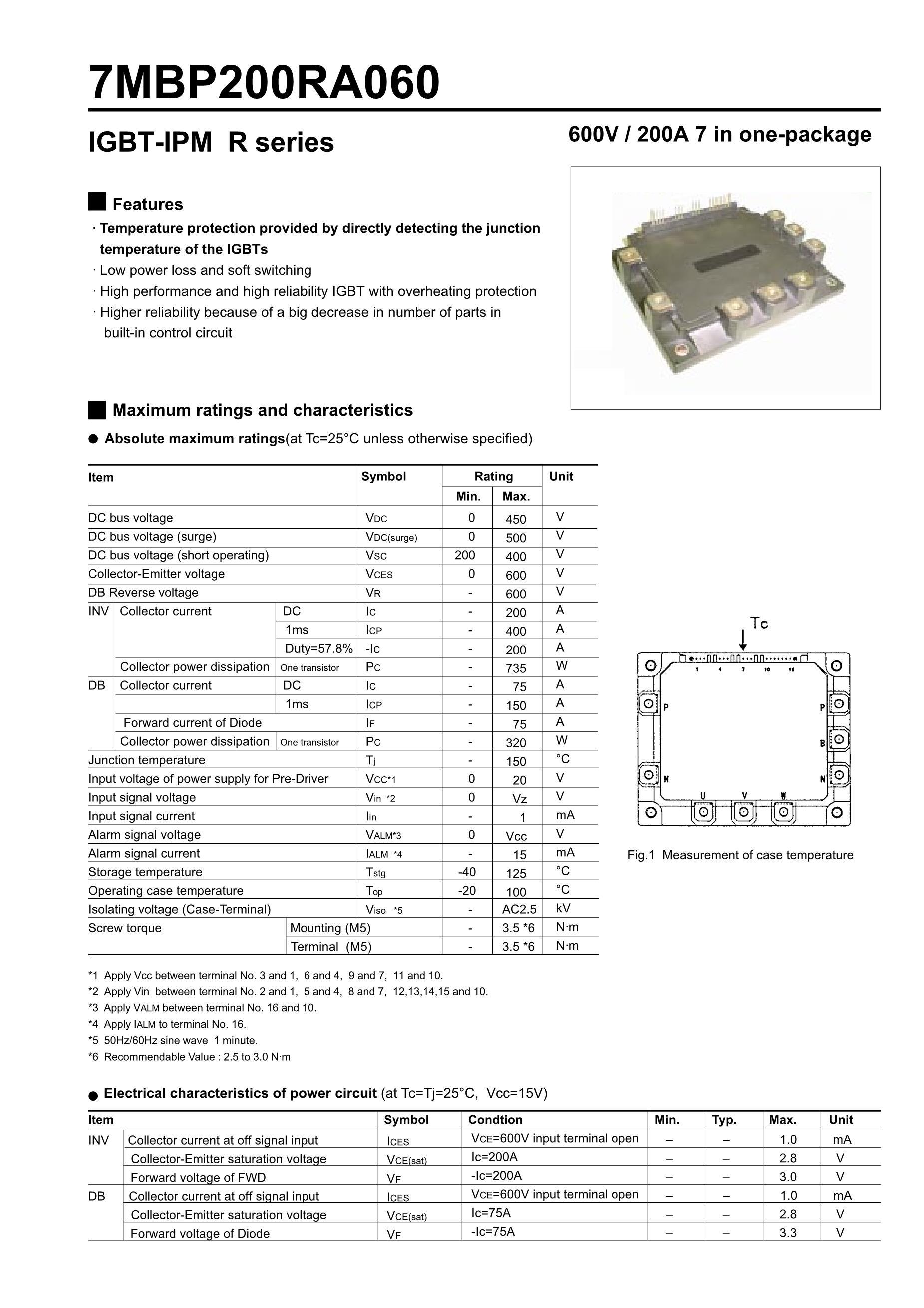 7MBP150KB060-02's pdf picture 1