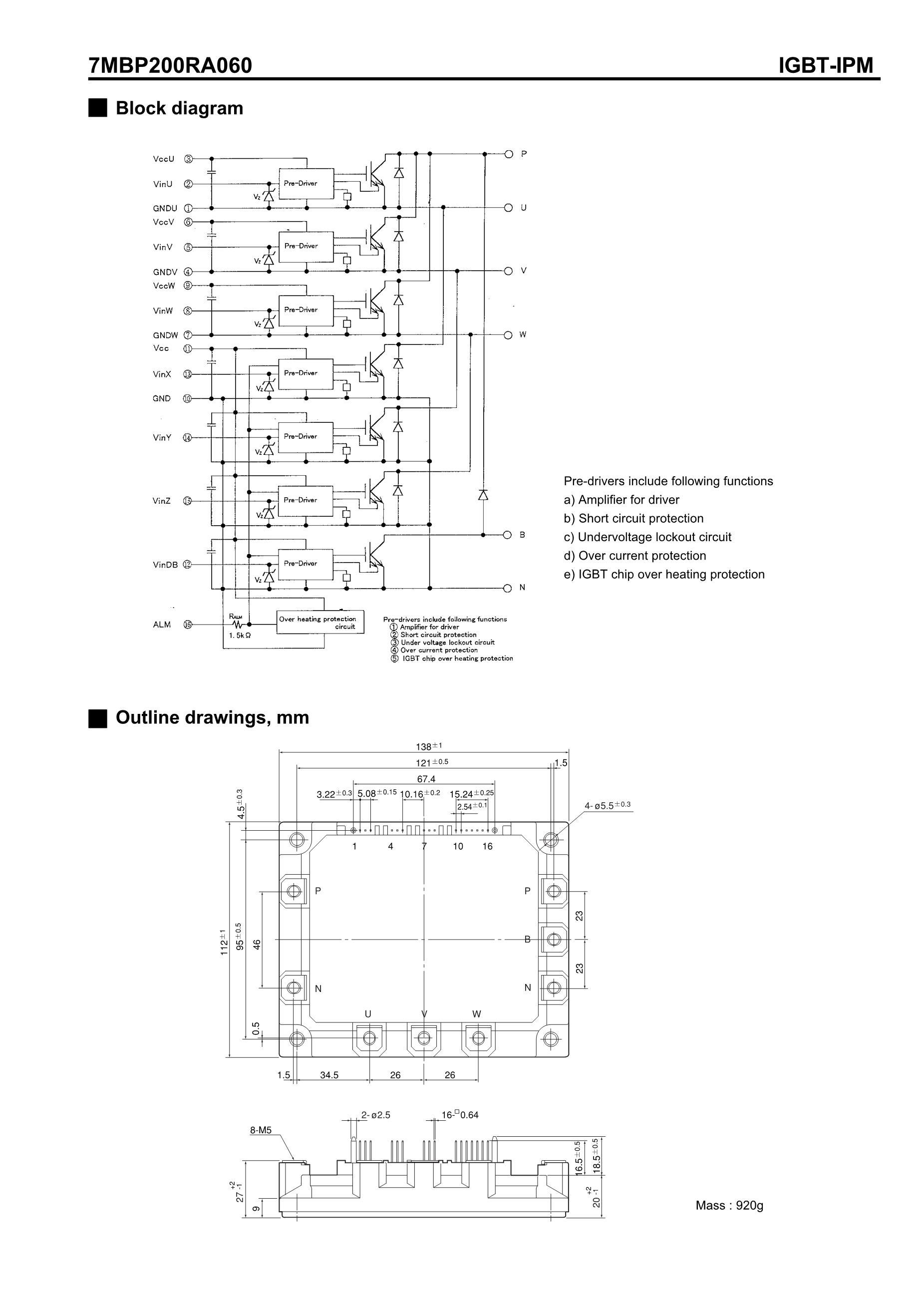 7MBP150KB060-02's pdf picture 3