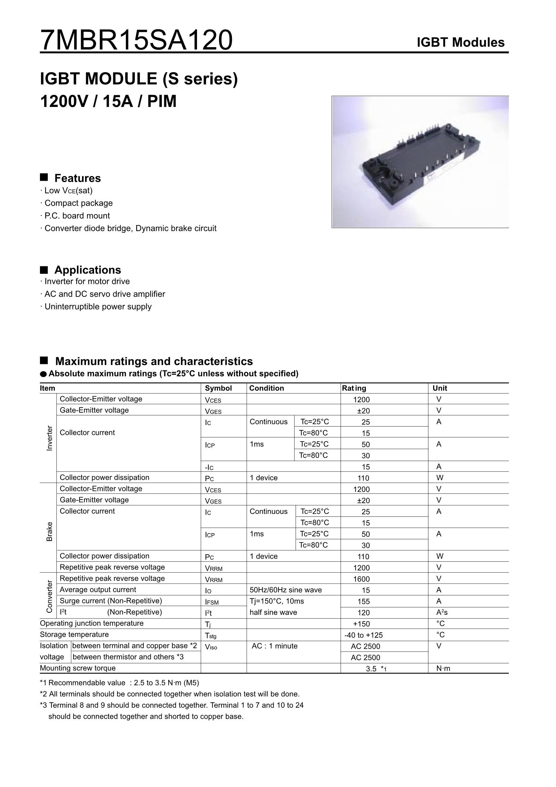7MBR25SA120D's pdf picture 1