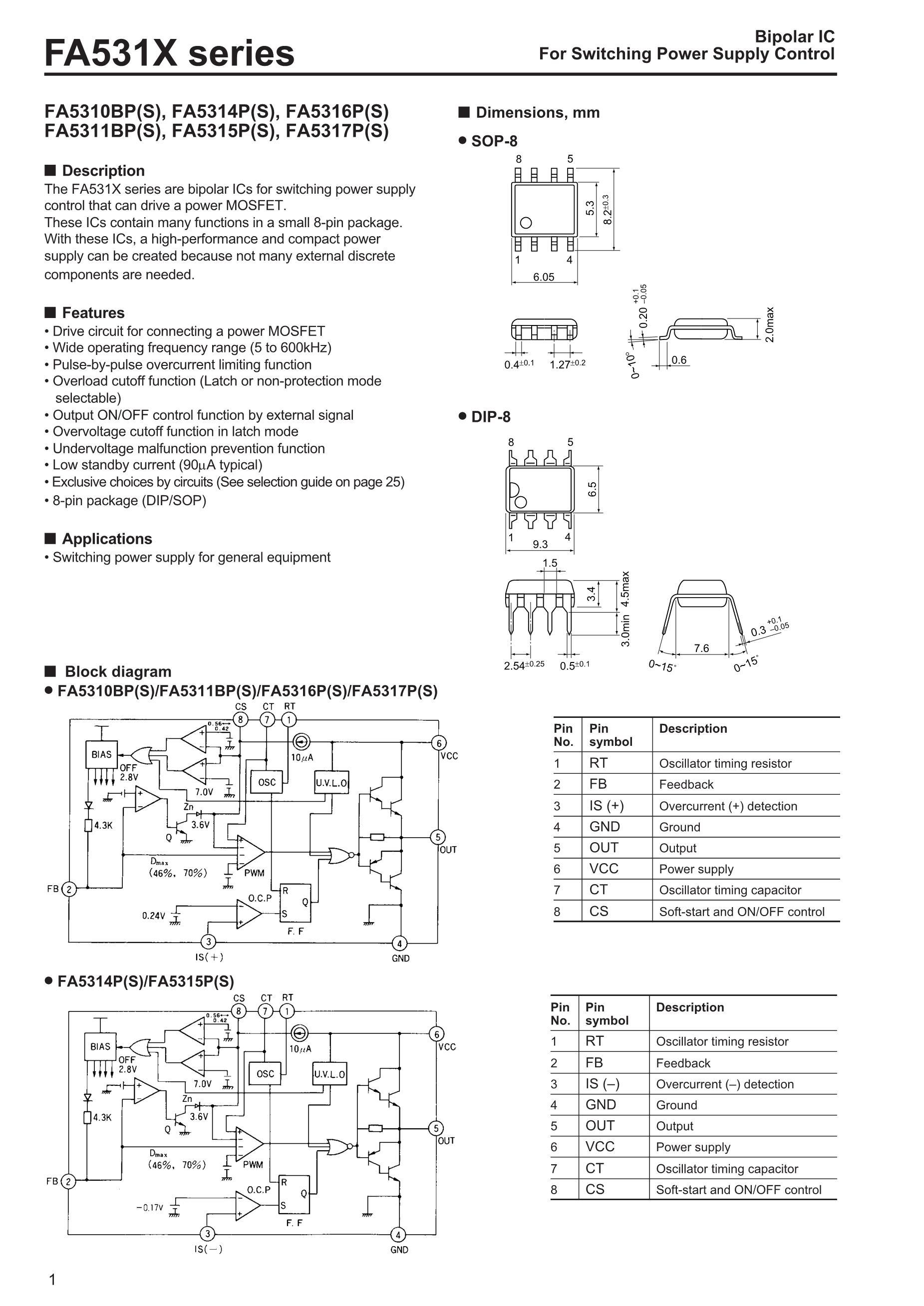 FA5310S-TE1's pdf picture 1