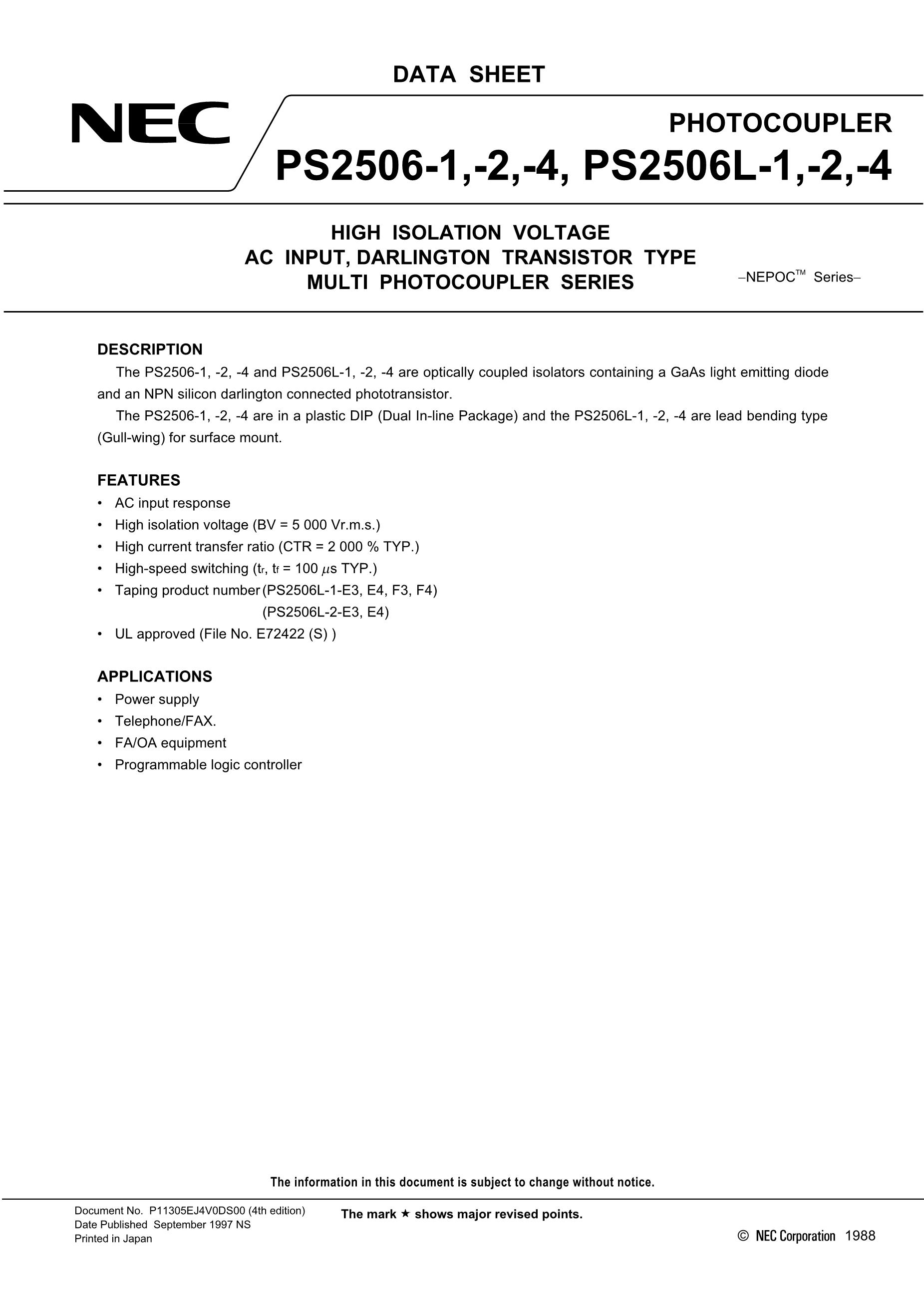 PS2501-1XG's pdf picture 1