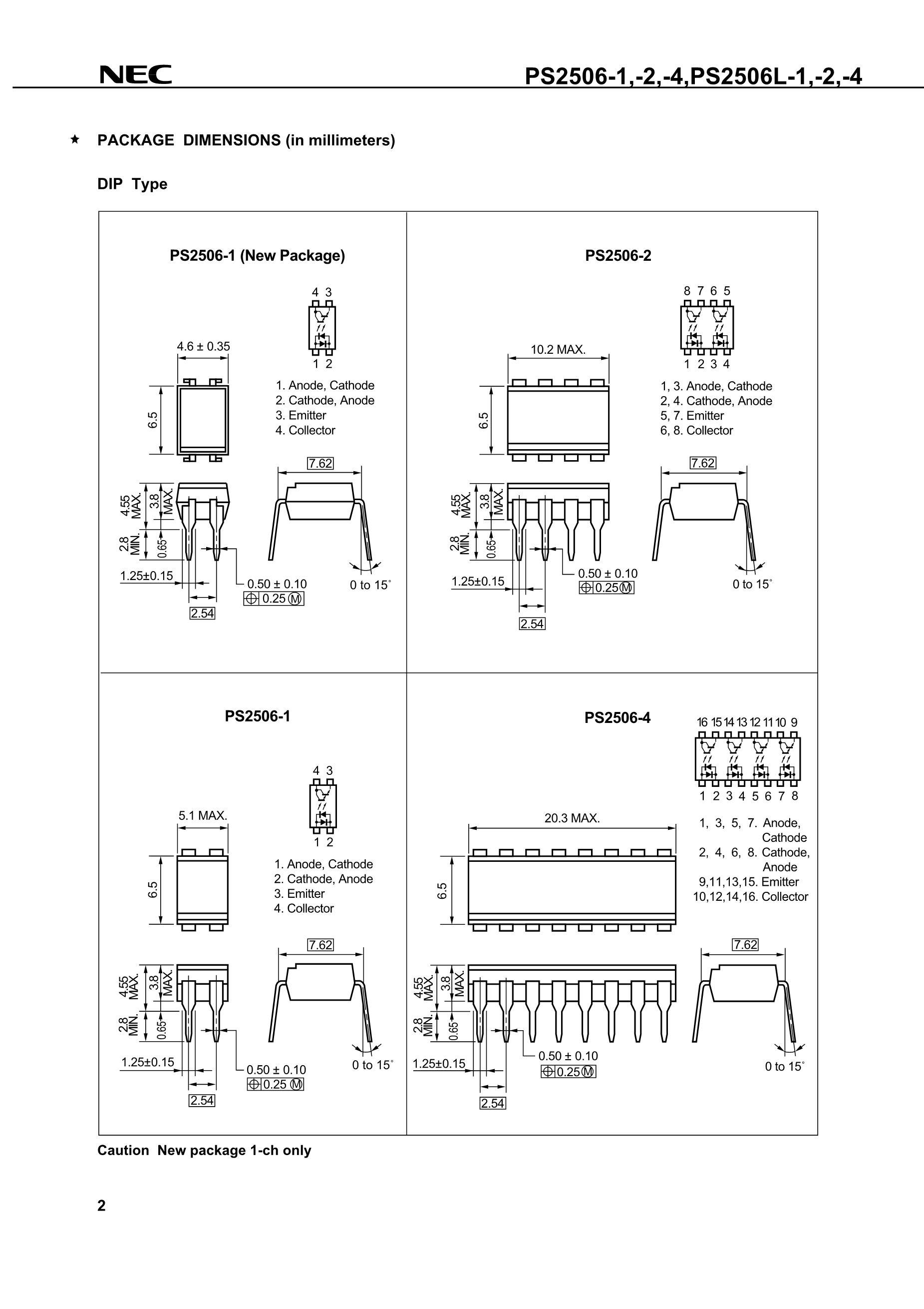 PS2501-1XG's pdf picture 2