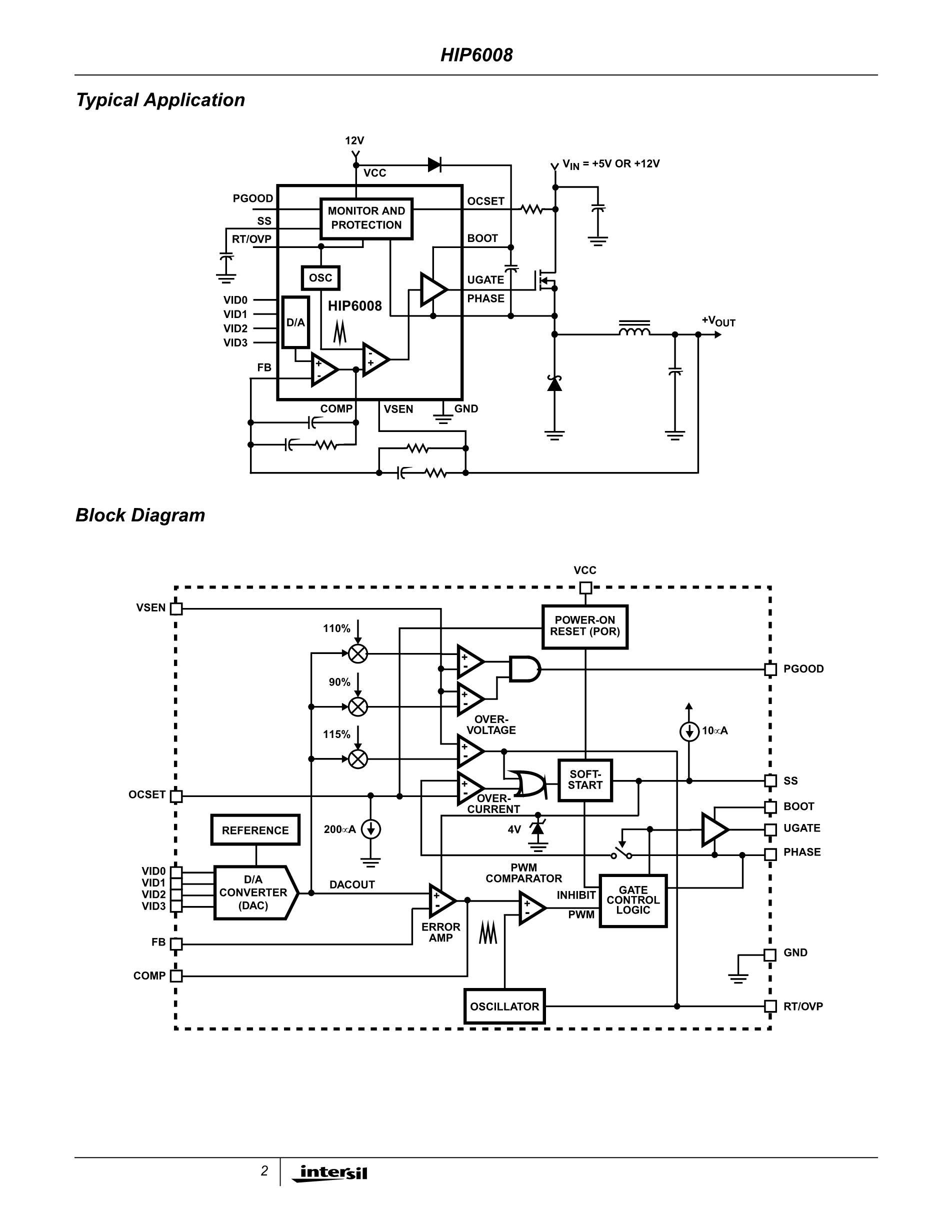 HIP6521CB's pdf picture 2