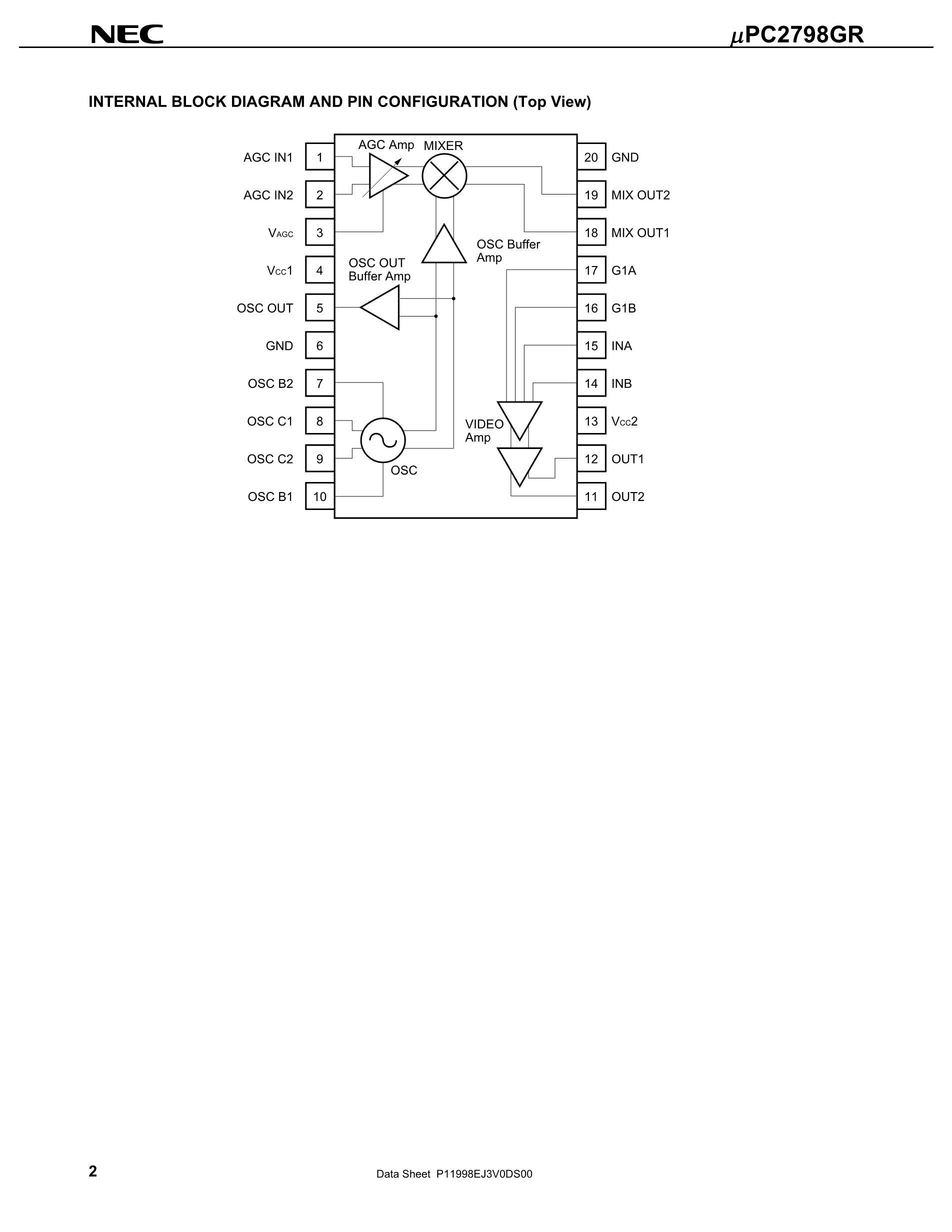 UPC2798GR's pdf picture 2