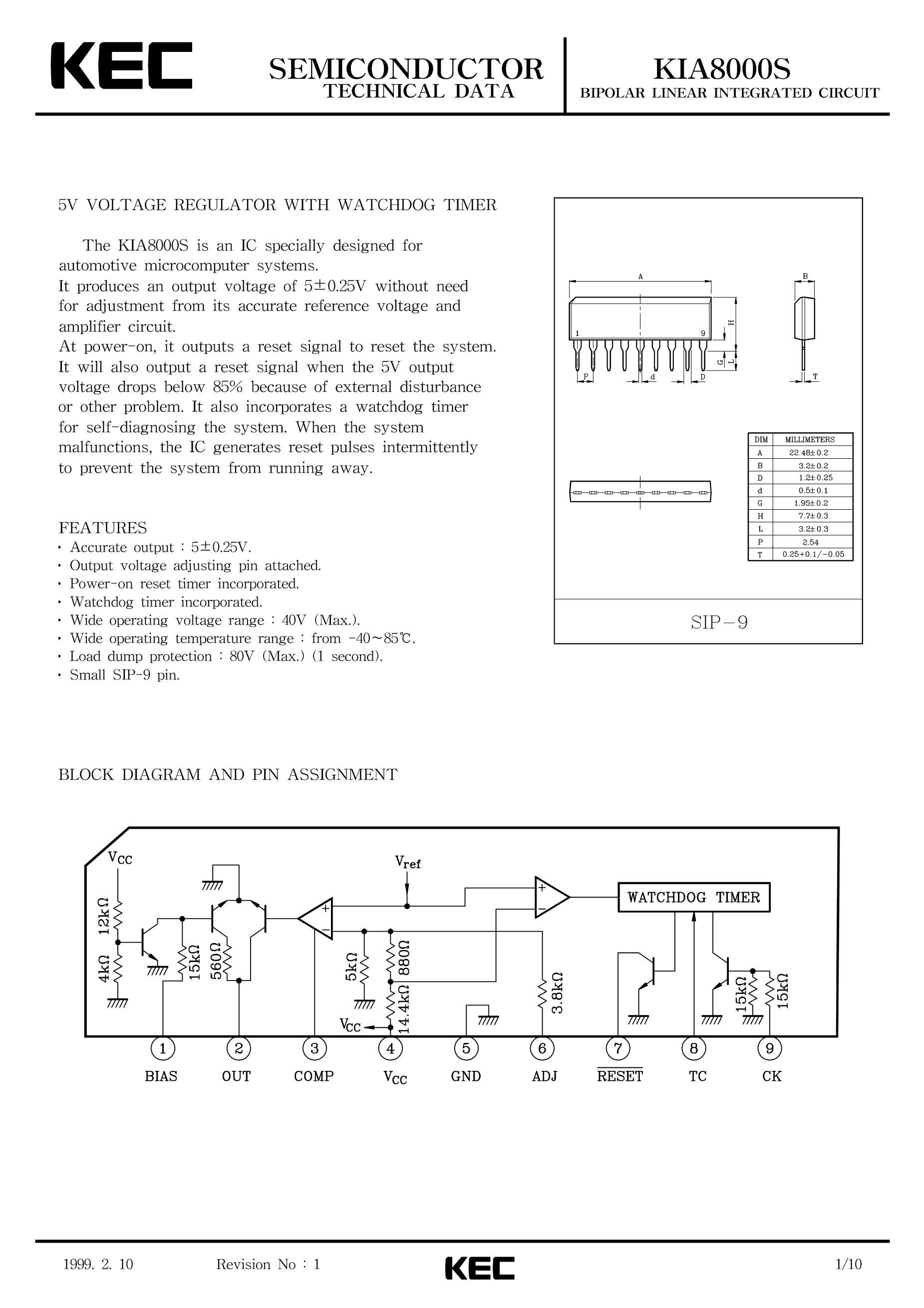 KEC Semicon KIA7042AF-RTF/P's pdf picture 1