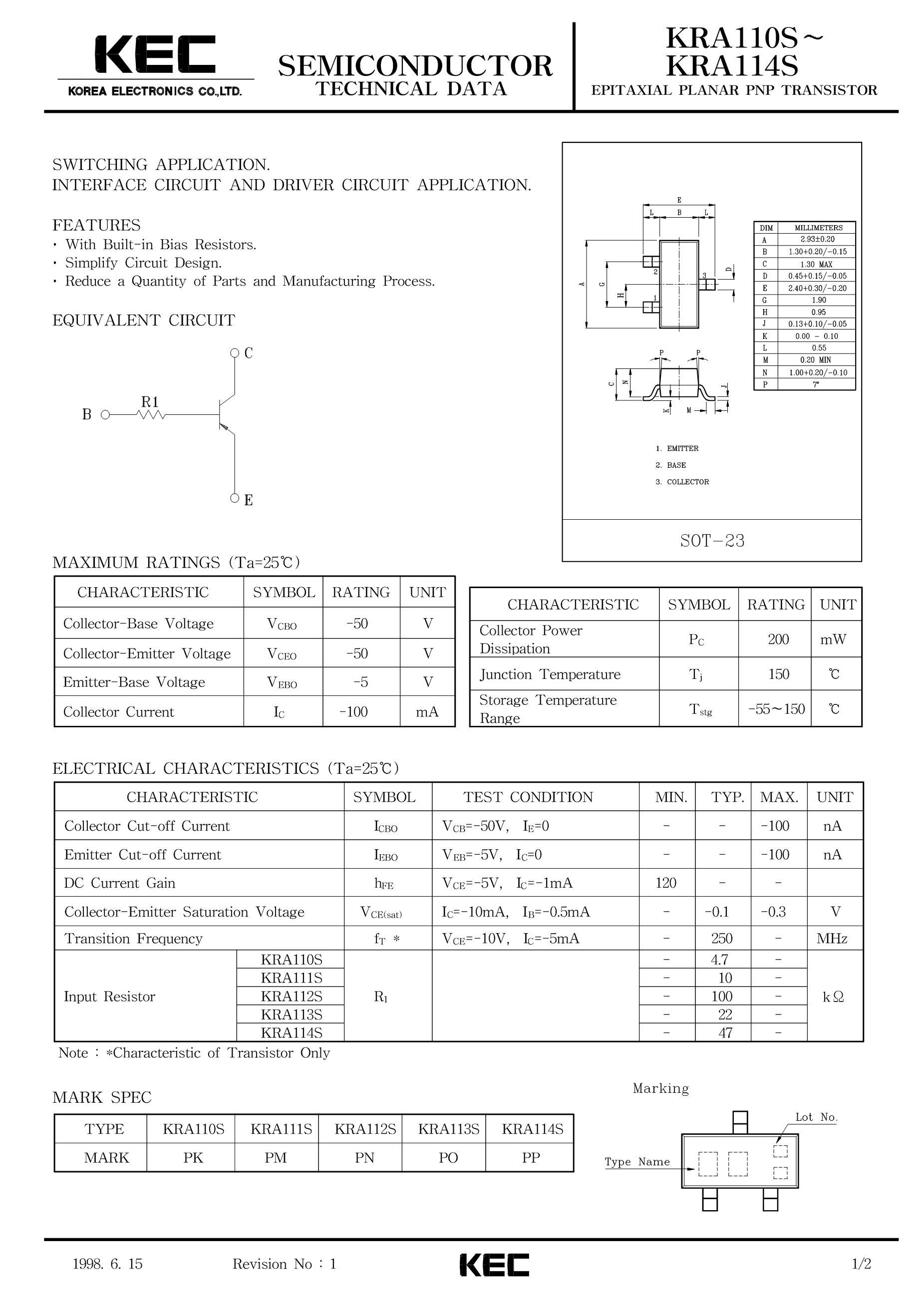 KRA106S/PF's pdf picture 1