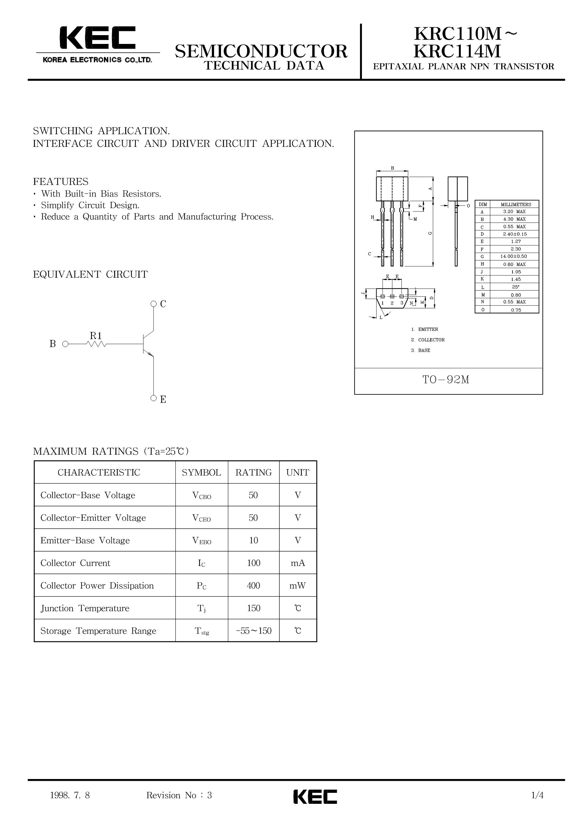KRC111S's pdf picture 1
