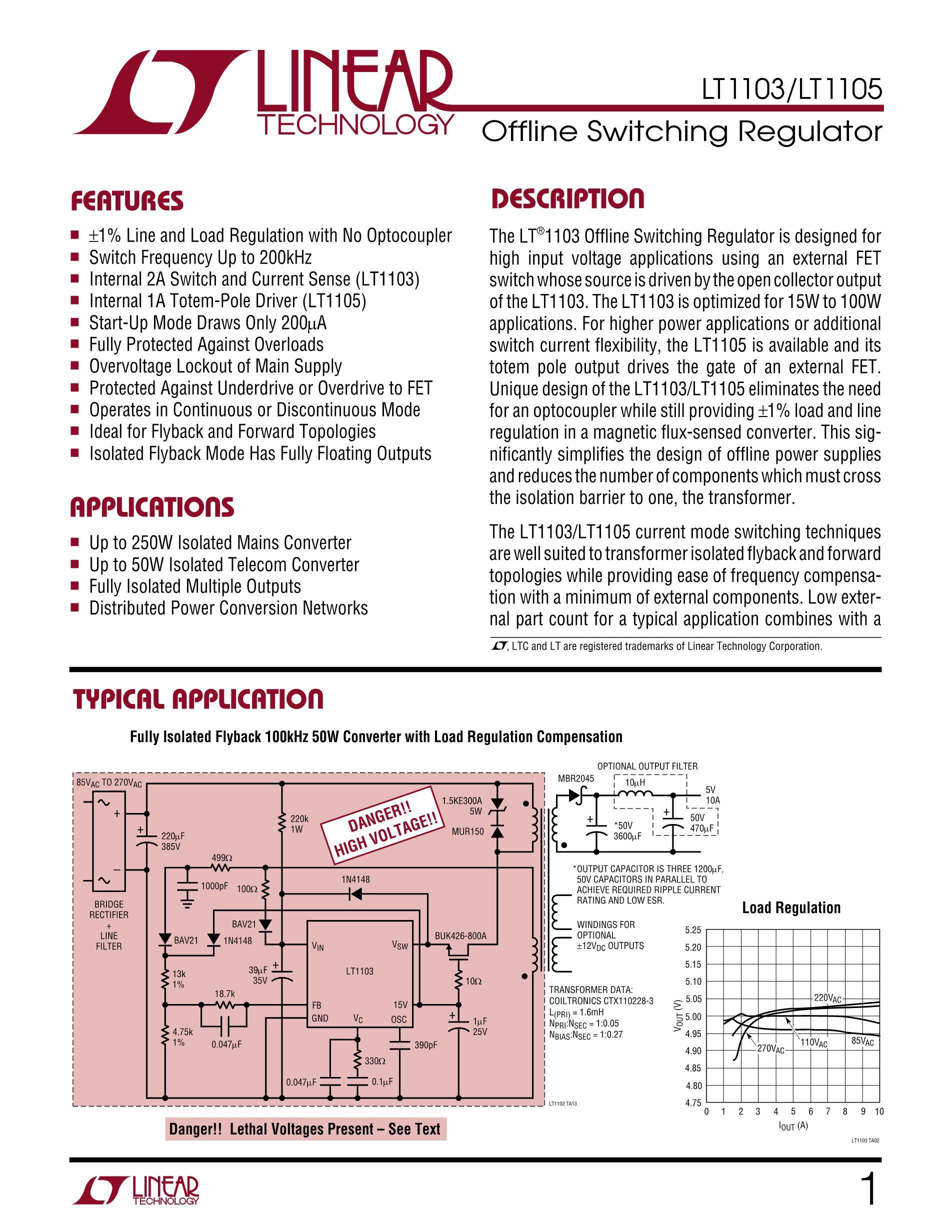 LT1105's pdf picture 1