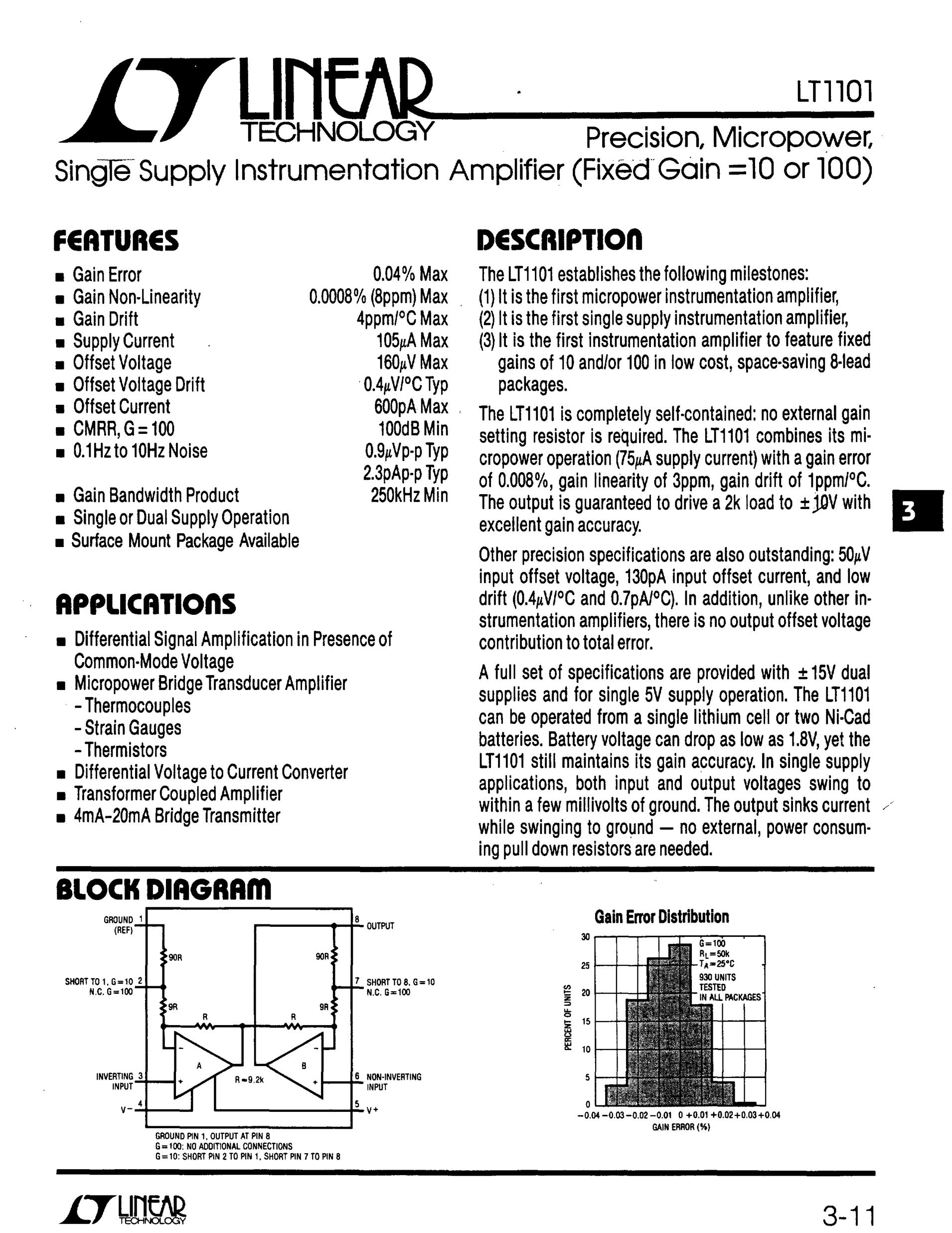 LT1101CS's pdf picture 1