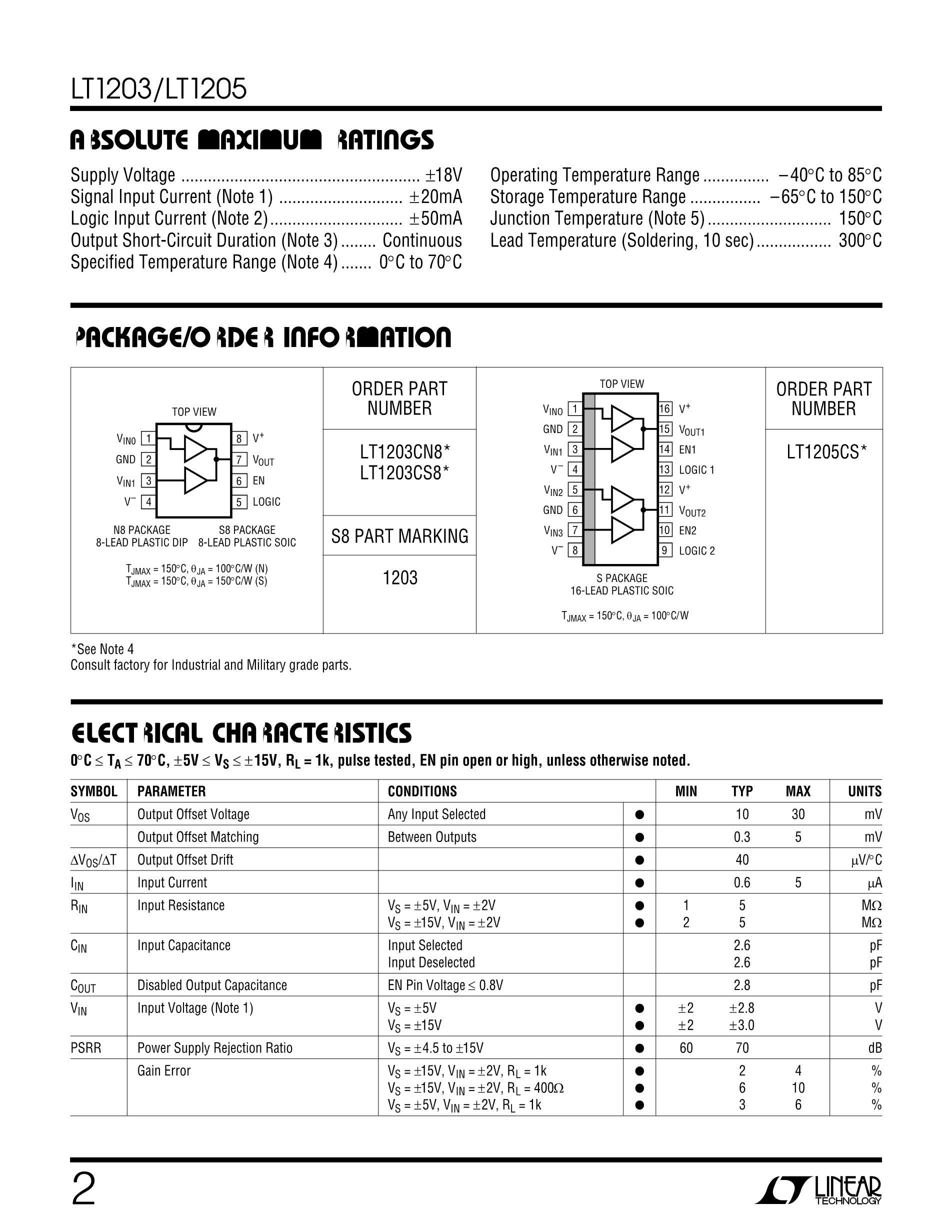 LT1257I/CS8's pdf picture 2