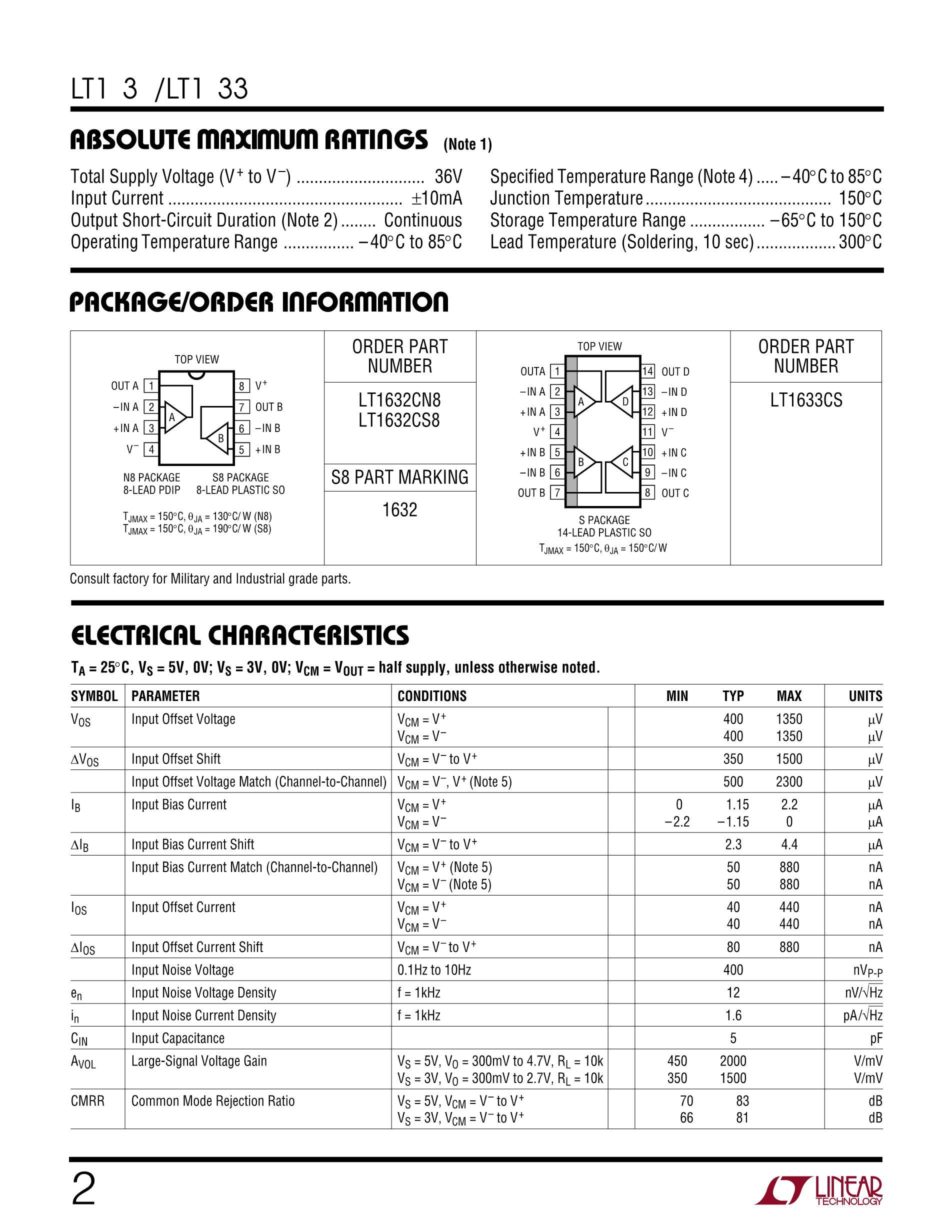 LT1673CS8's pdf picture 2