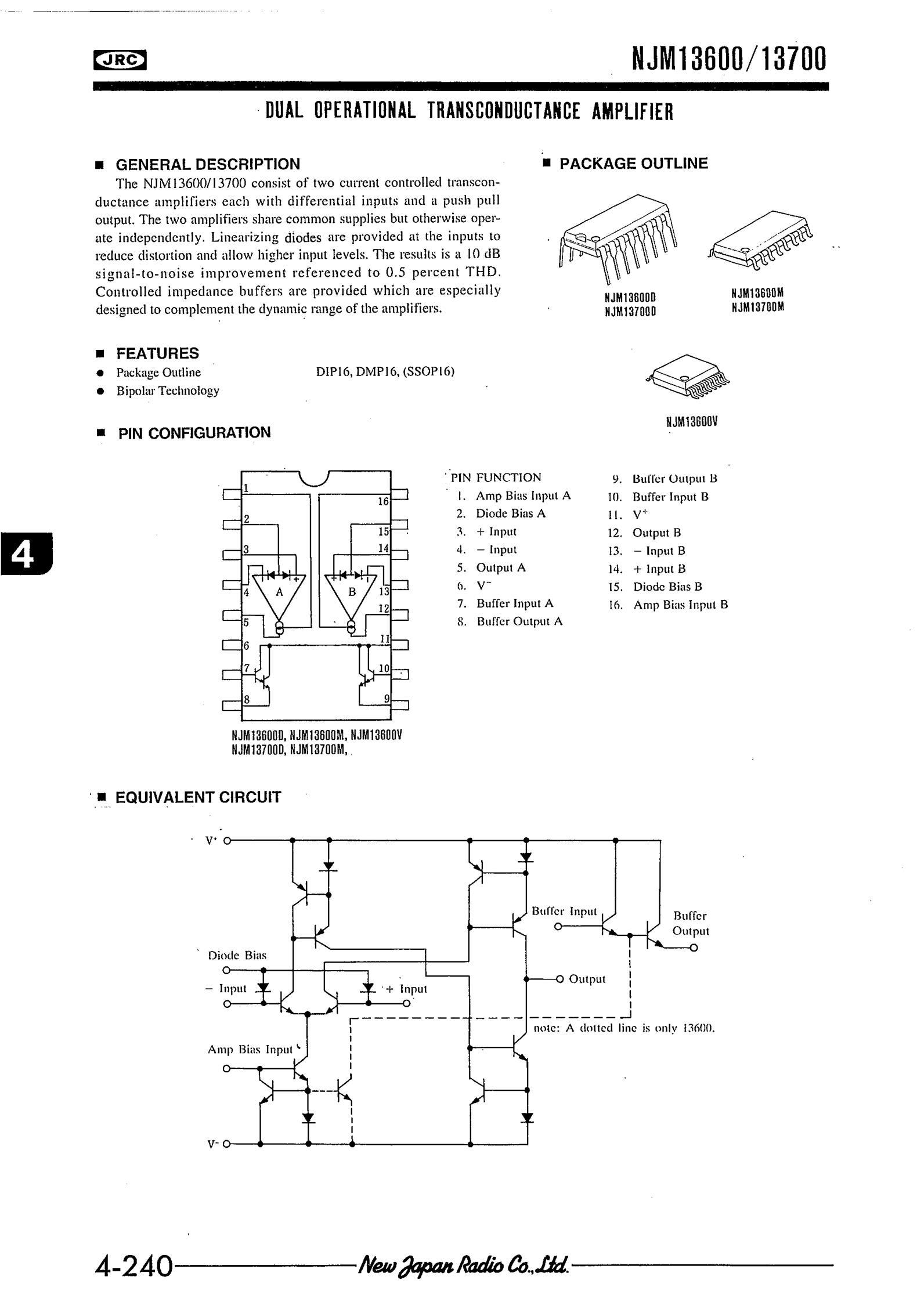 NJM13600D's pdf picture 1