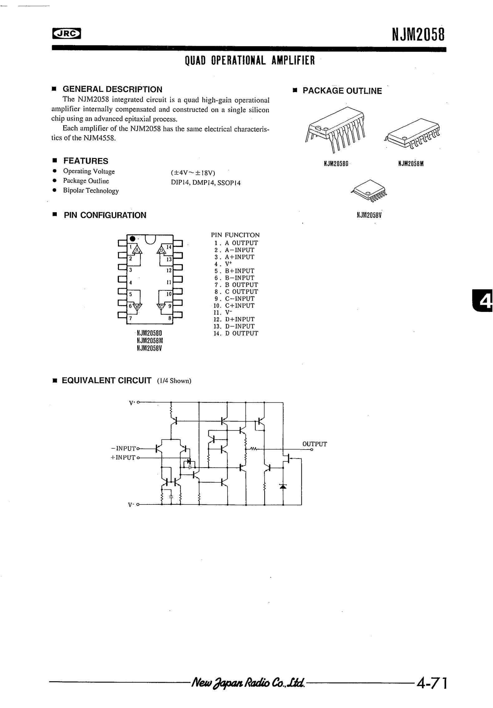 NJM2380L's pdf picture 1
