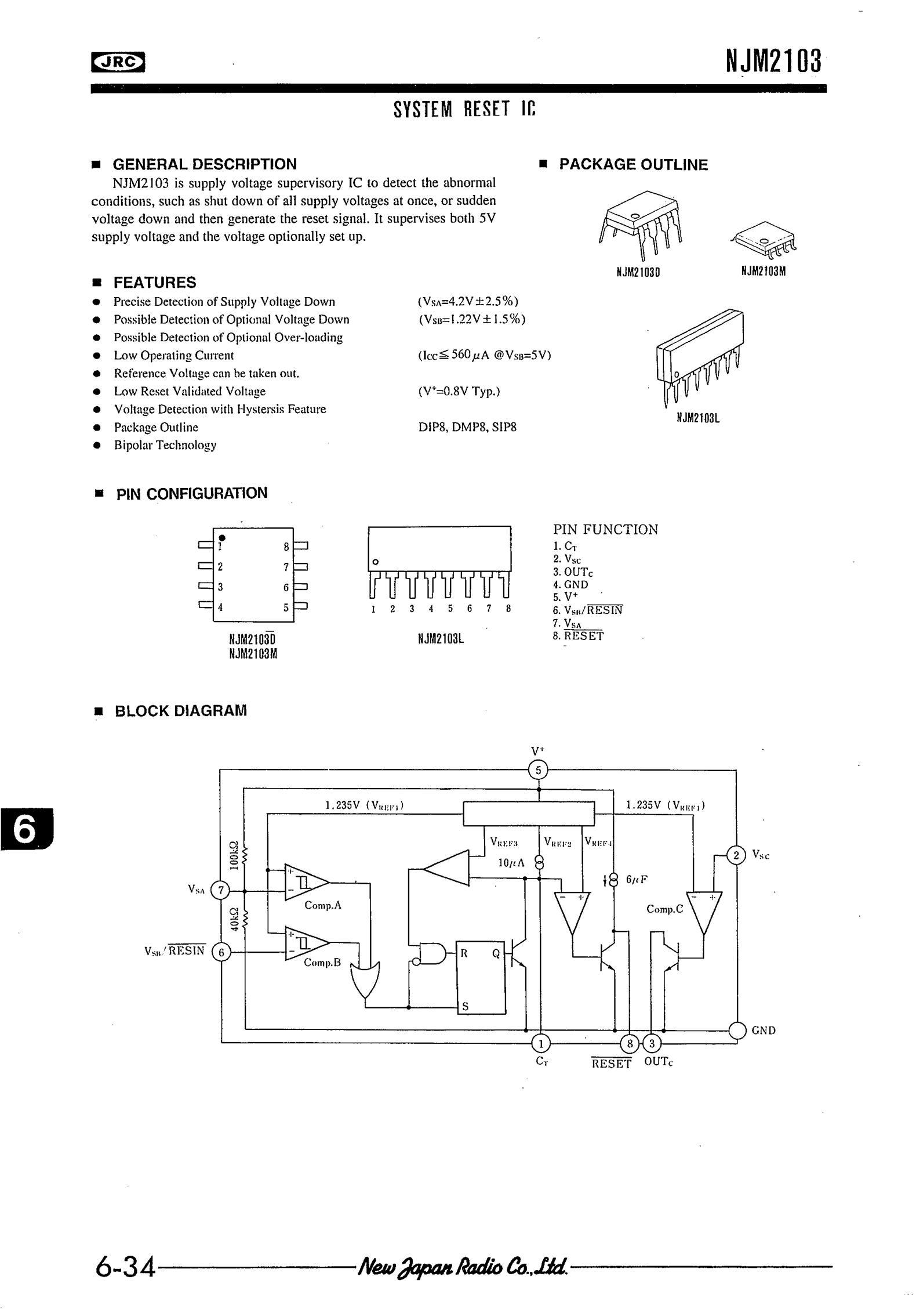 NJM2103D's pdf picture 1