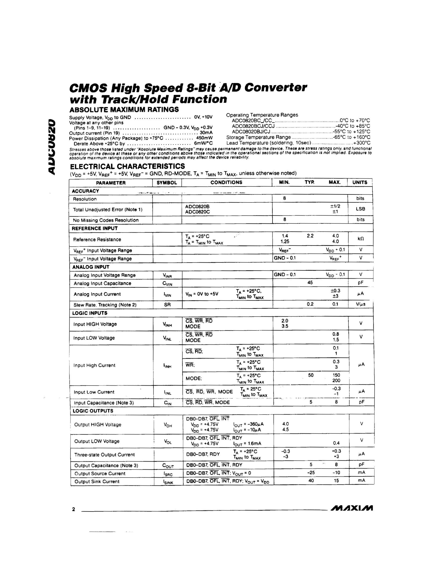 ADC0820's pdf picture 2