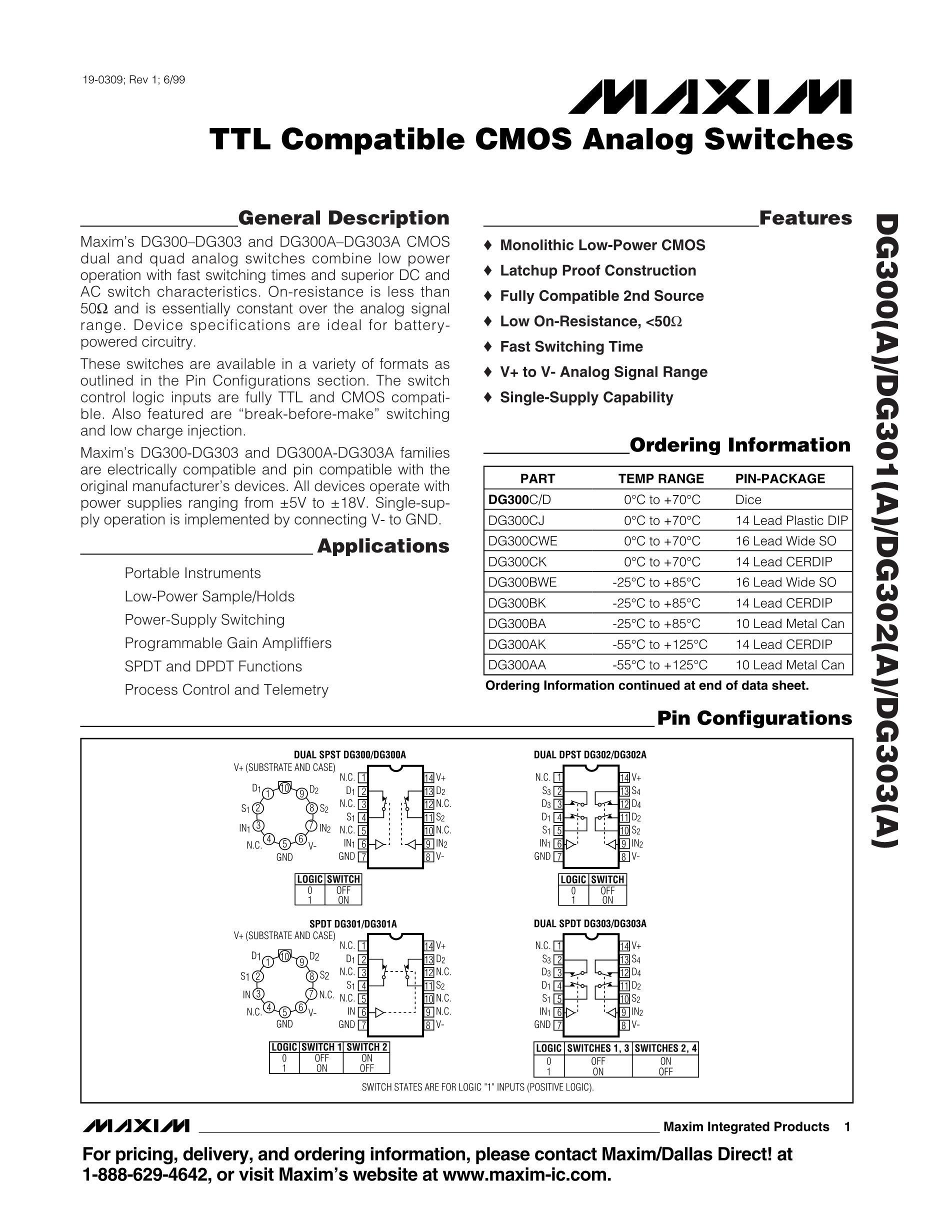 DG302BDJ-E3's pdf picture 1