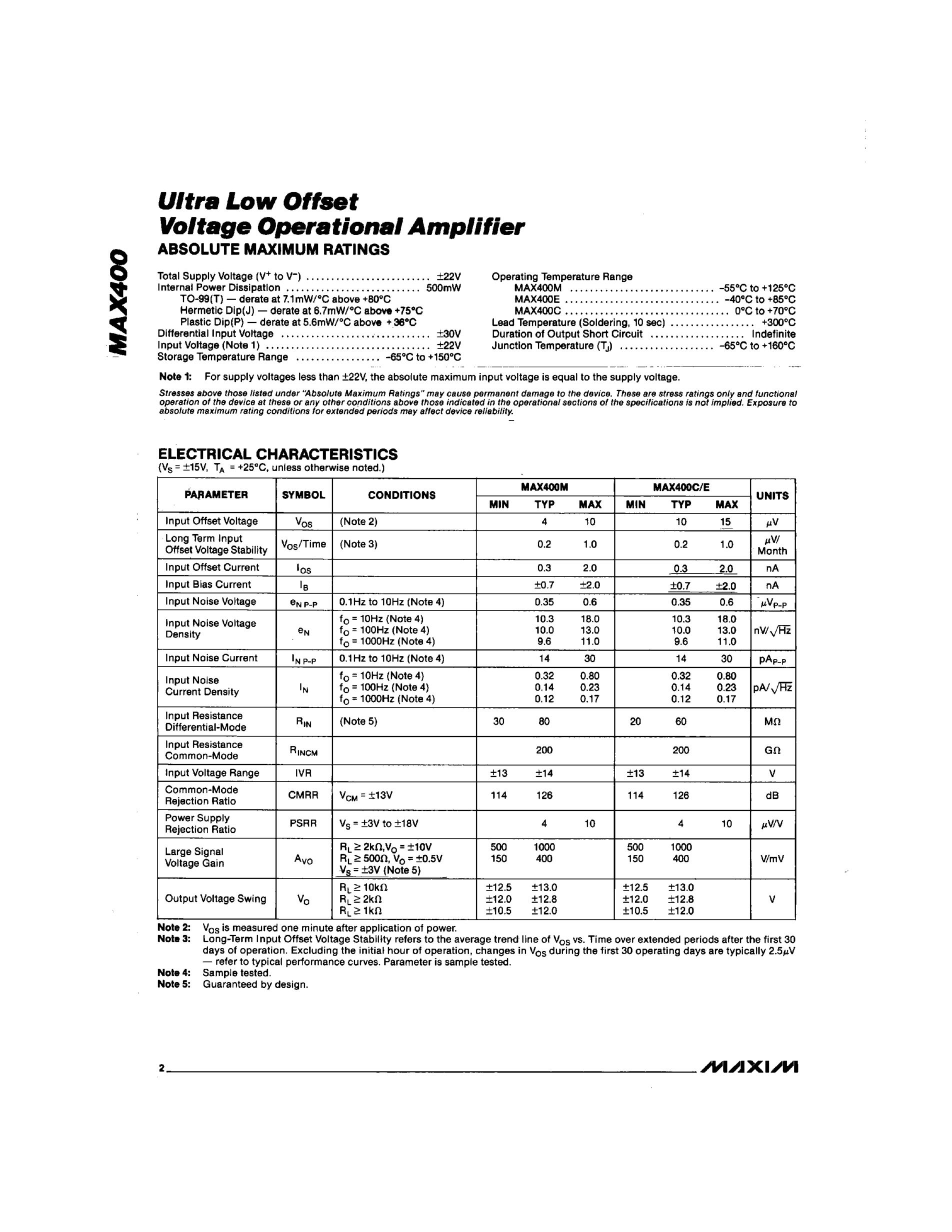 MAX4545CWP+'s pdf picture 2