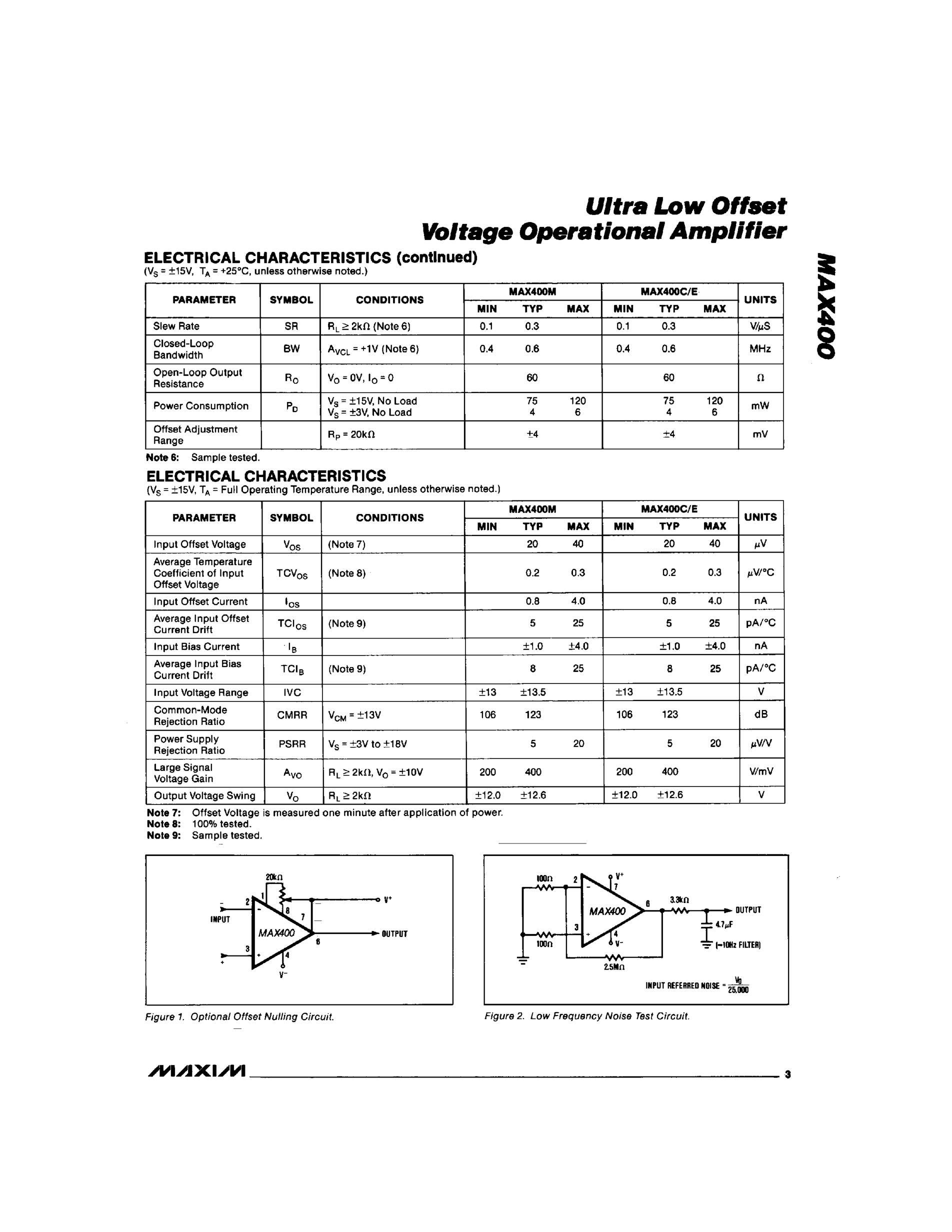 MAX495CUA's pdf picture 3