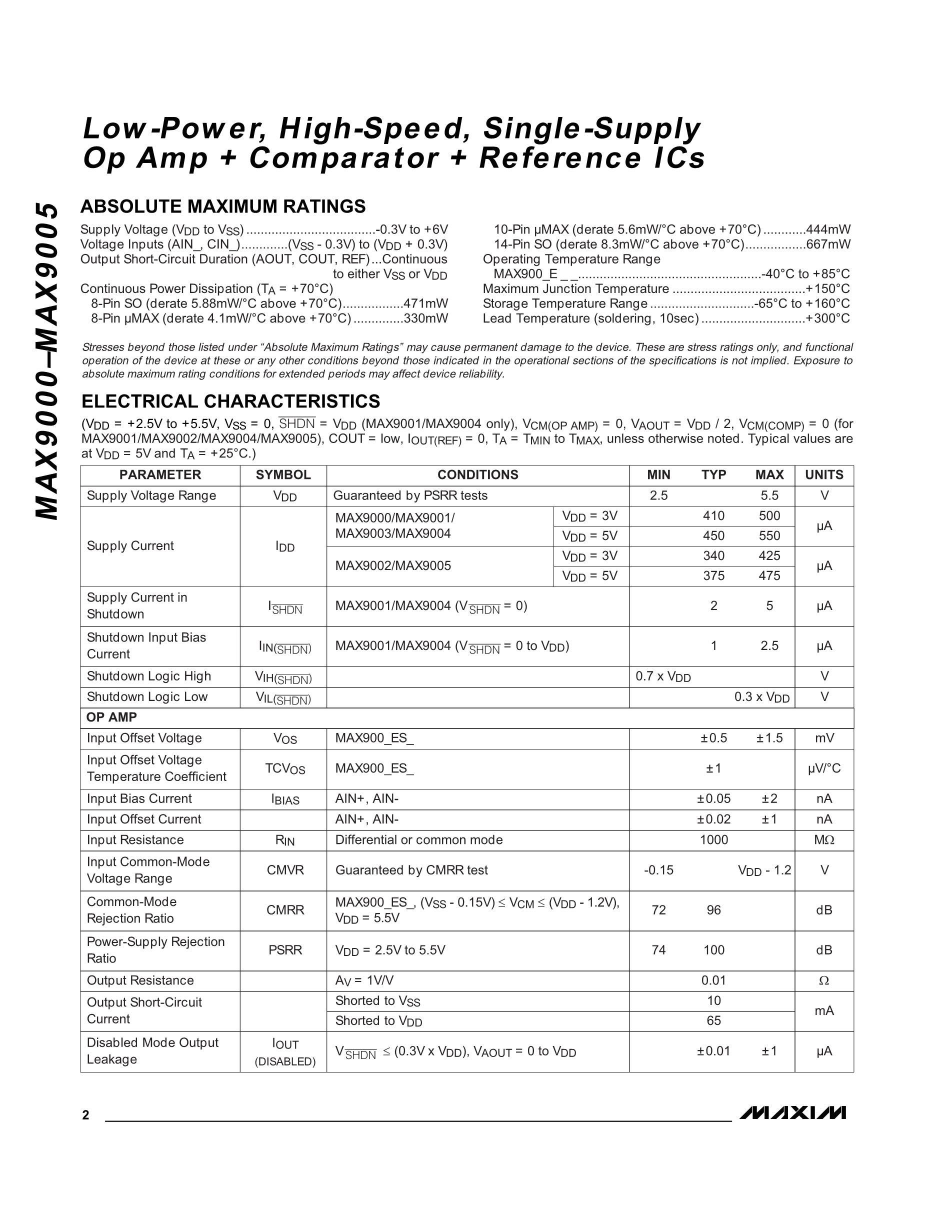 MAX98089EWY+T's pdf picture 2