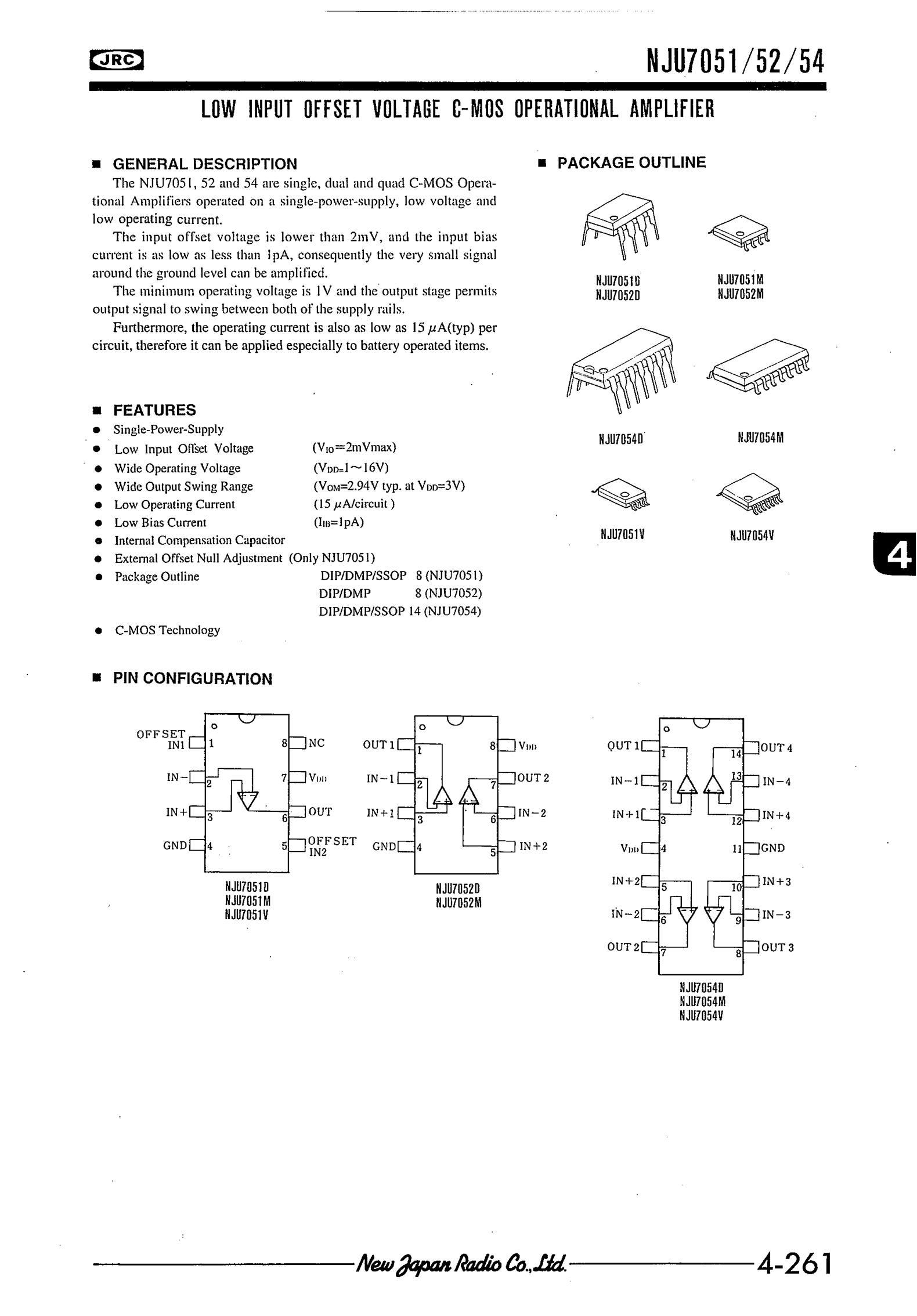 NJU7312AM's pdf picture 1