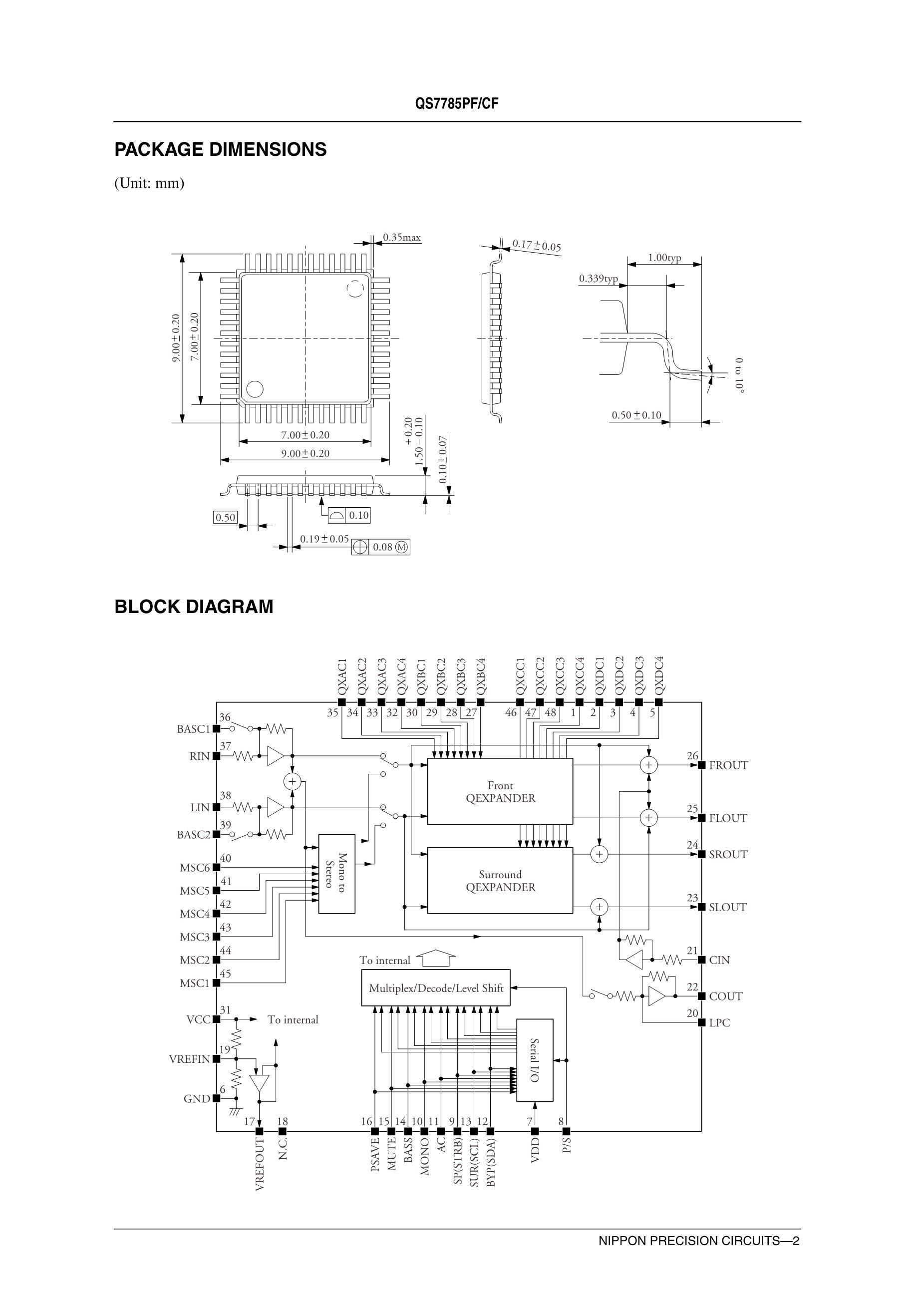 QS7785CF's pdf picture 2