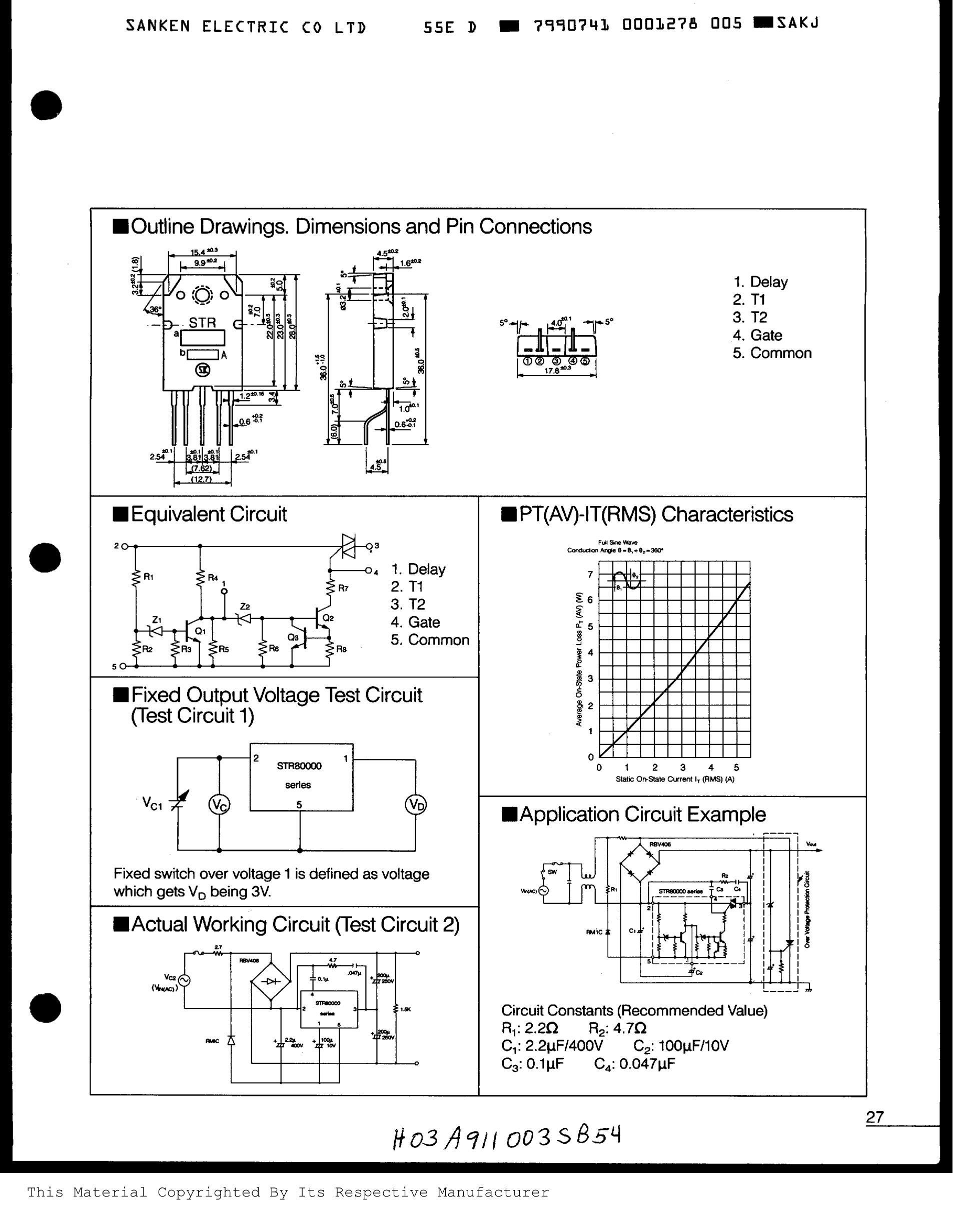 STR-81145's pdf picture 2