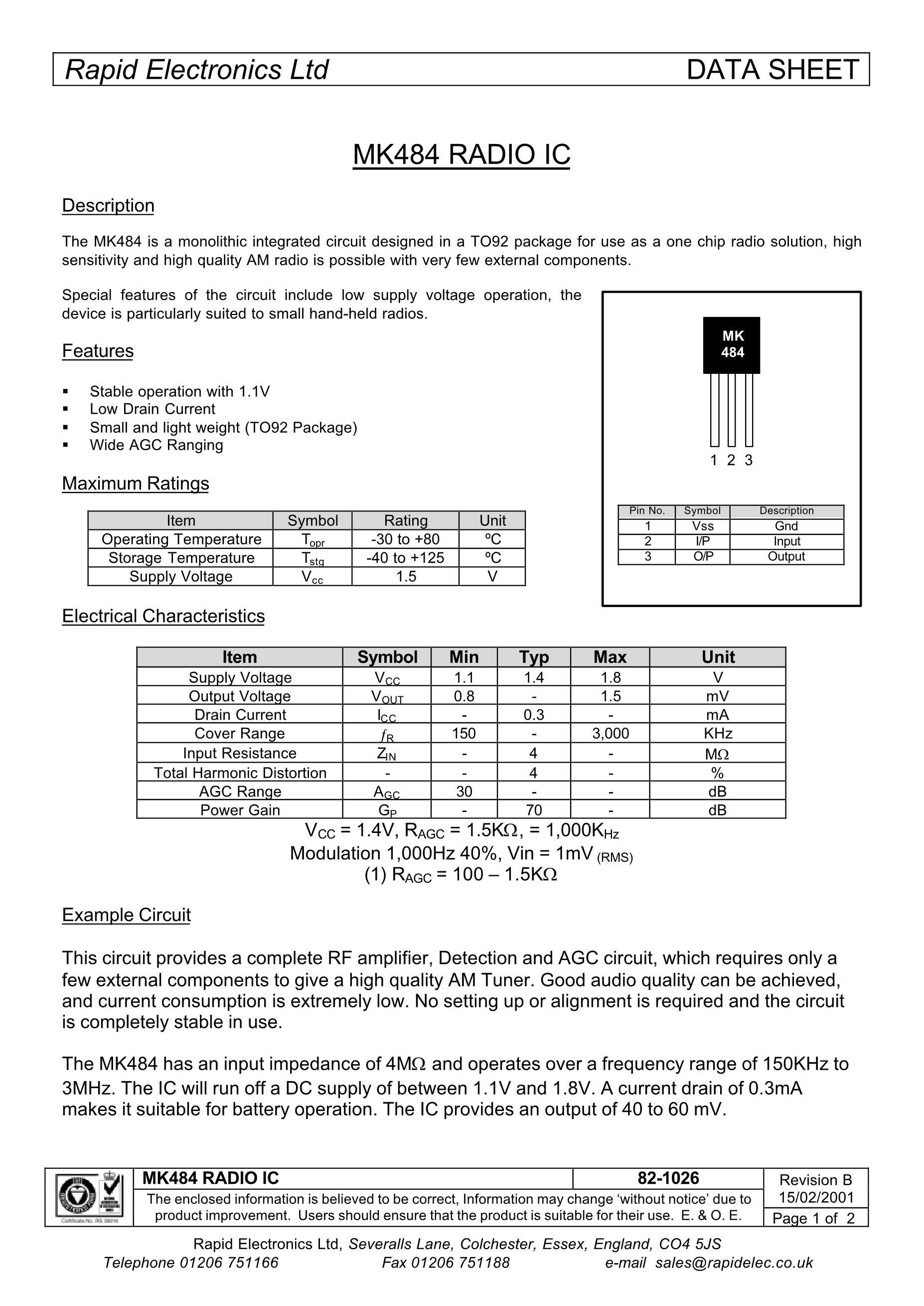 MK48Z08B-10's pdf picture 1