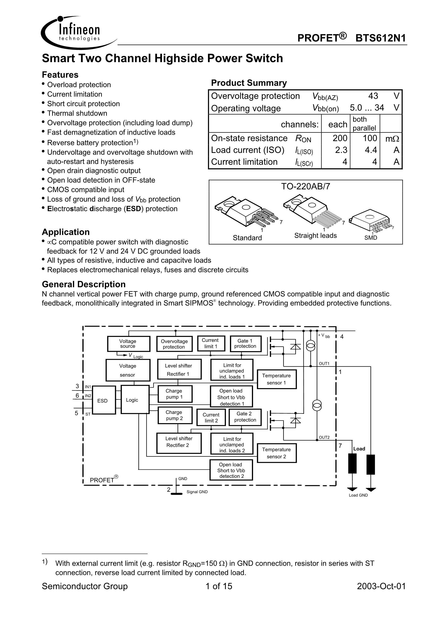 BTS61101SJAXUMA2's pdf picture 1